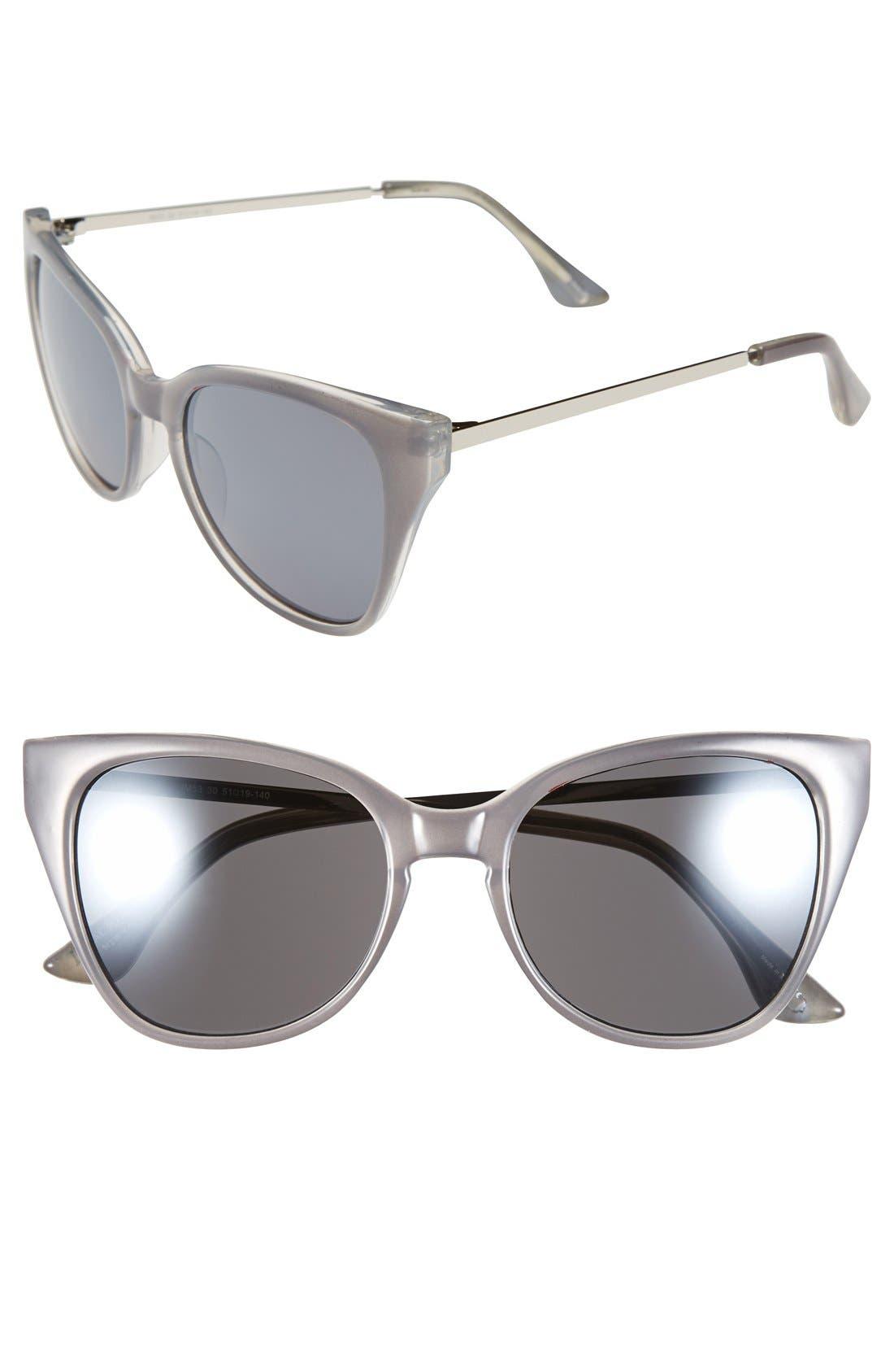 Main Image - Isaac Mizrahi New York 51mm Retro Sunglasses