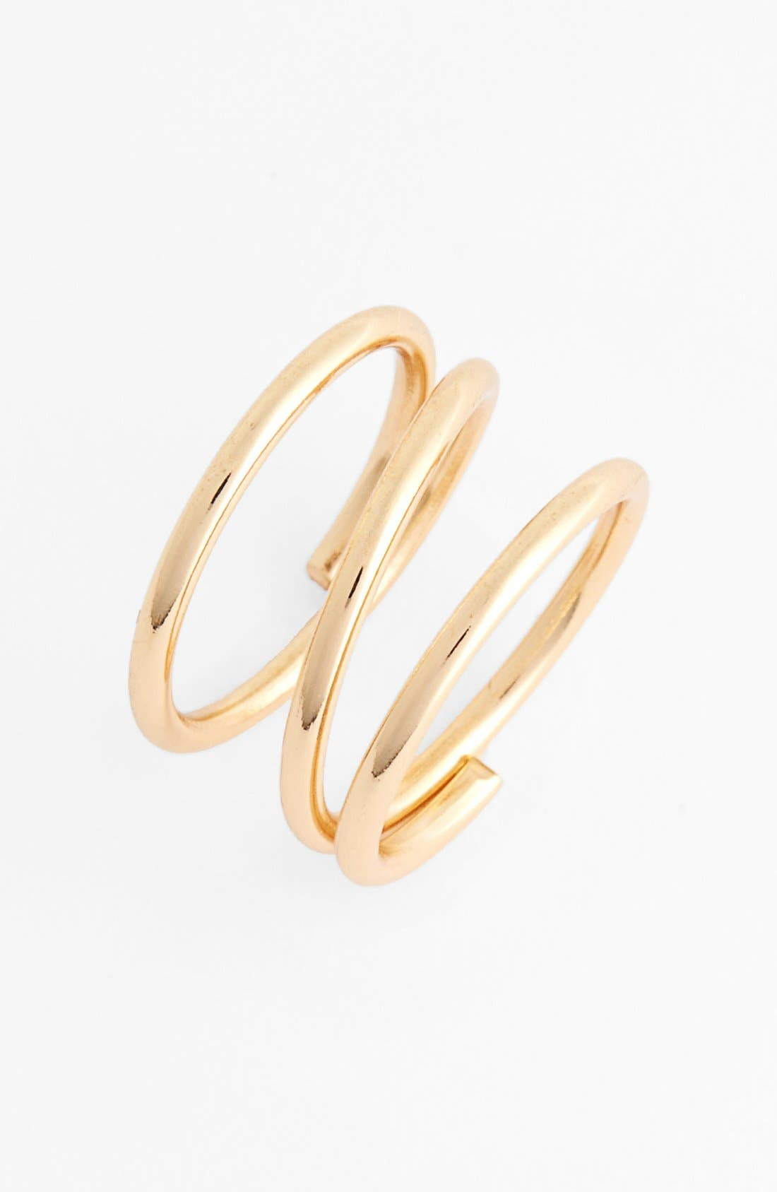 Main Image - BP. Spiral Midi Ring (Juniors)