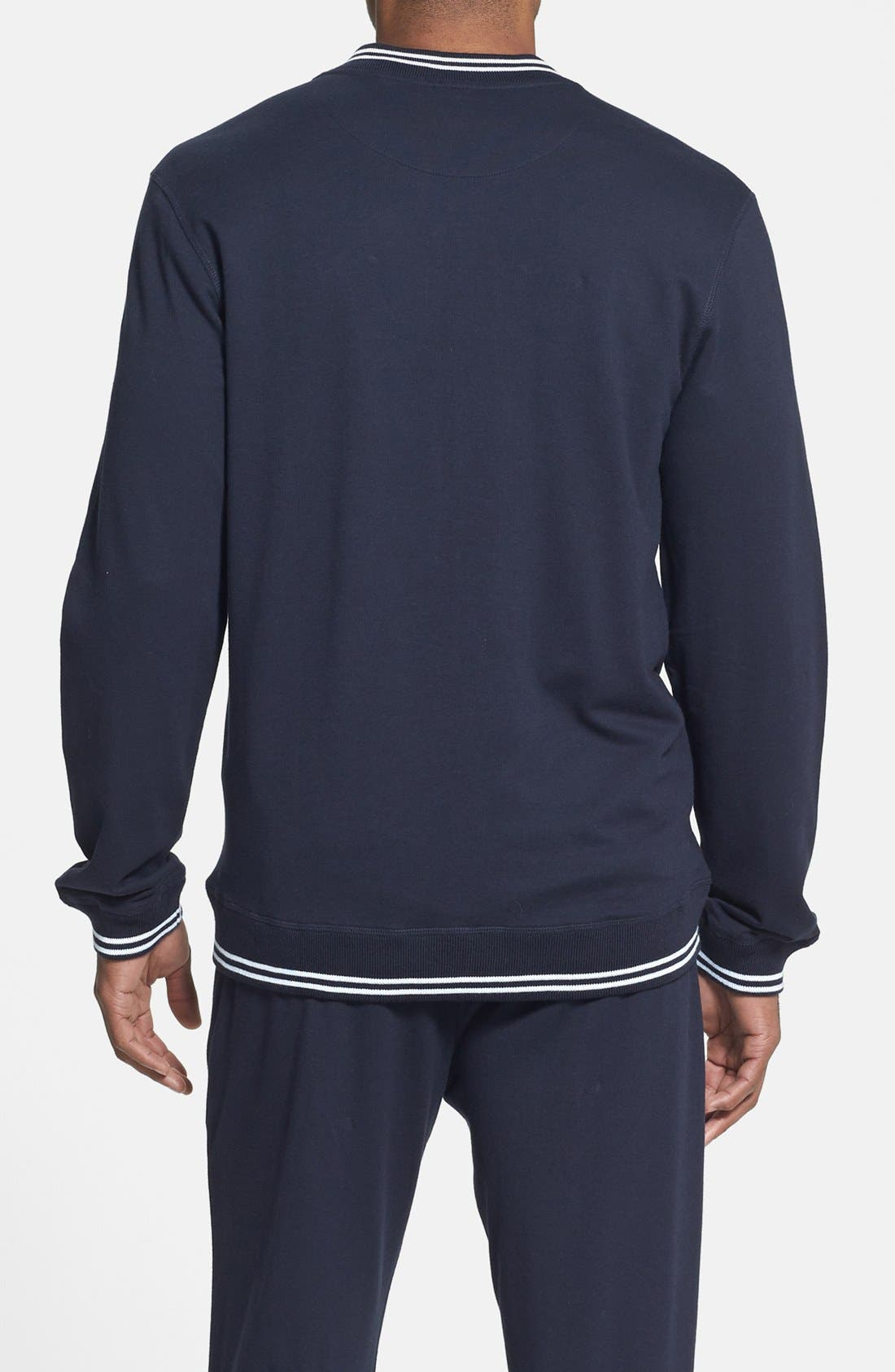 Alternate Image 2  - Daniel Buchler Pima Cotton & Modal Track Jacket