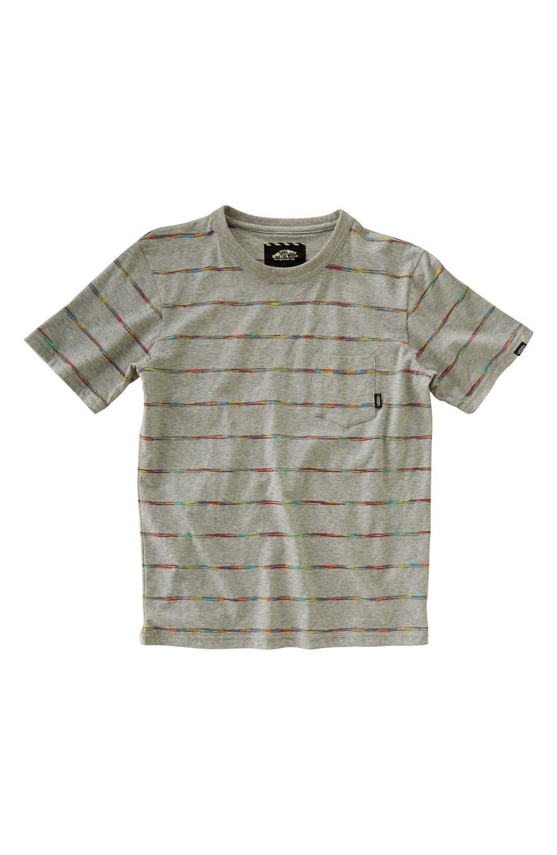 Alternate Image 1 Selected - Vans 'Lowden' Short Sleeve Pocket T-Shirt (Big Boys)