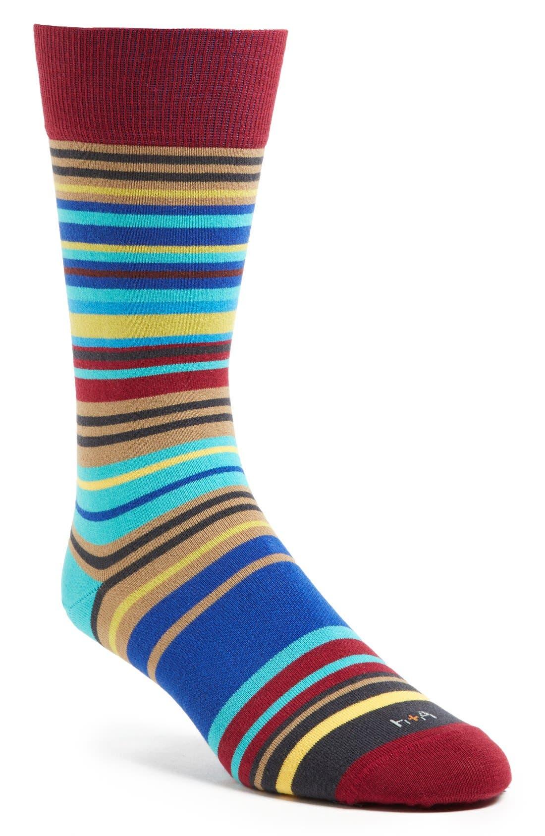 Alternate Image 1 Selected - hook + ALBERT 'Ocean Breeze' Socks