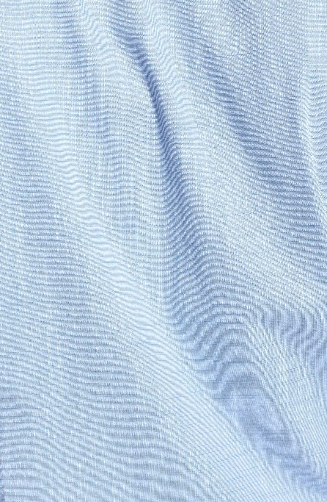 Alternate Image 3  - Cutter & Buck 'Meadows' Oxford Sport Shirt (Big & Tall)