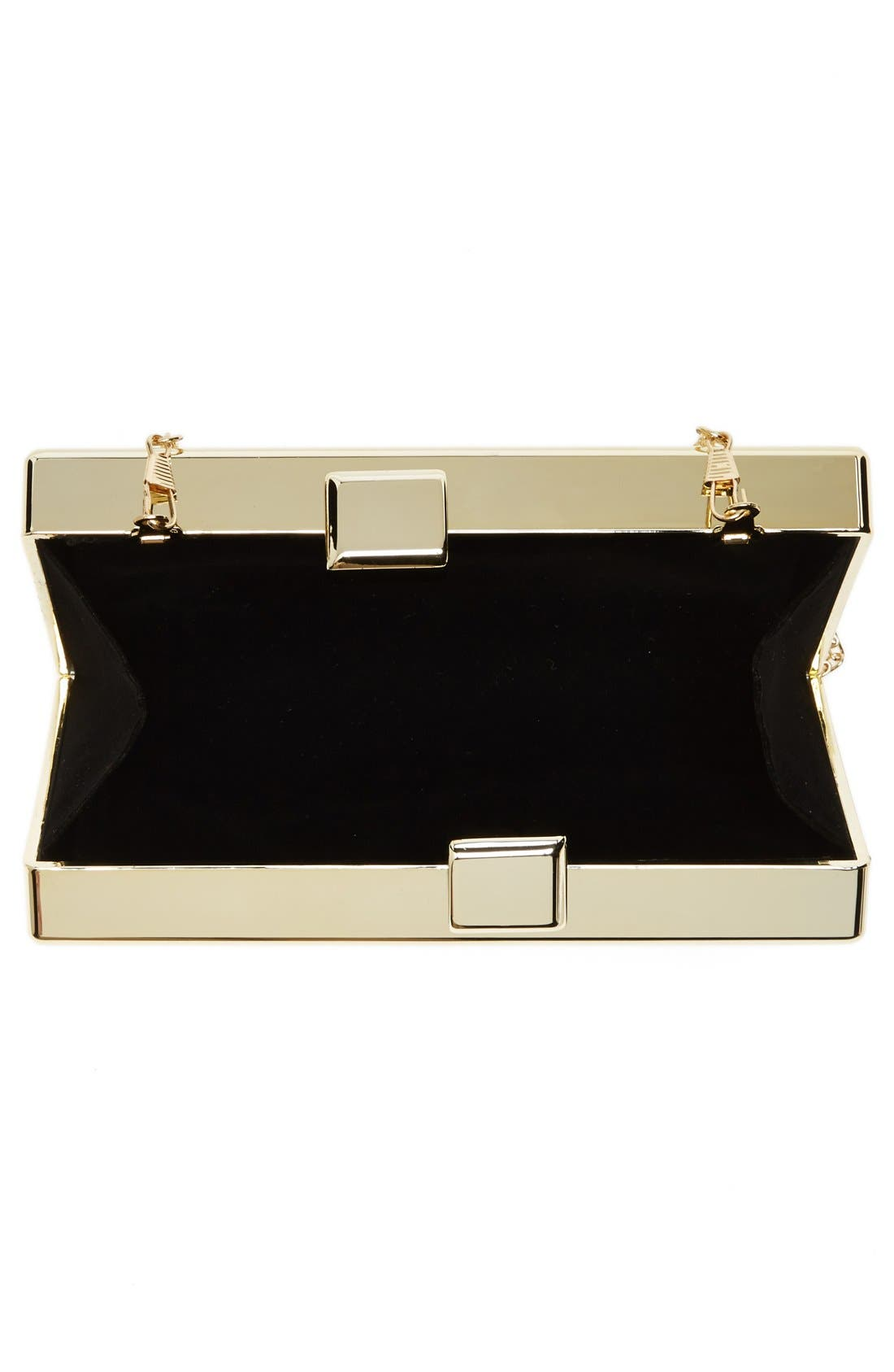 Alternate Image 3  - Natasha Couture 'Metallic Mirror' Box Clutch