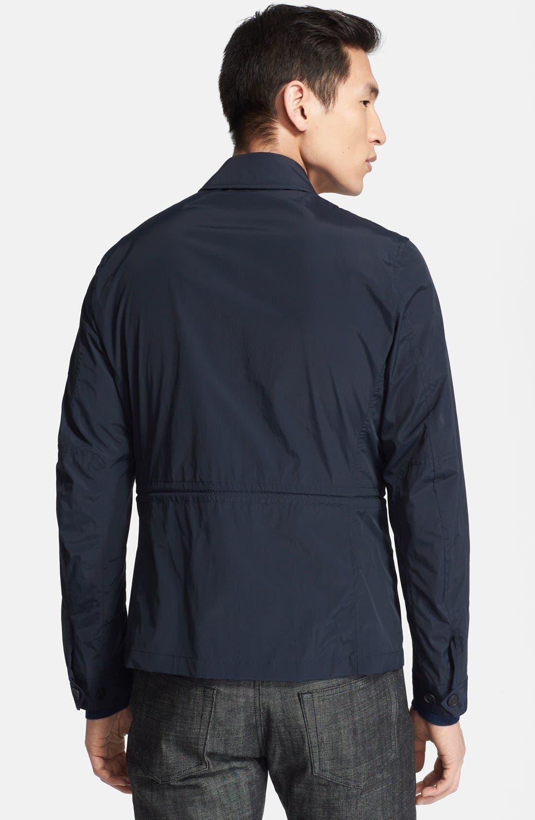 Alternate Image 2  - Z Zegna Techno Poplin Field Jacket