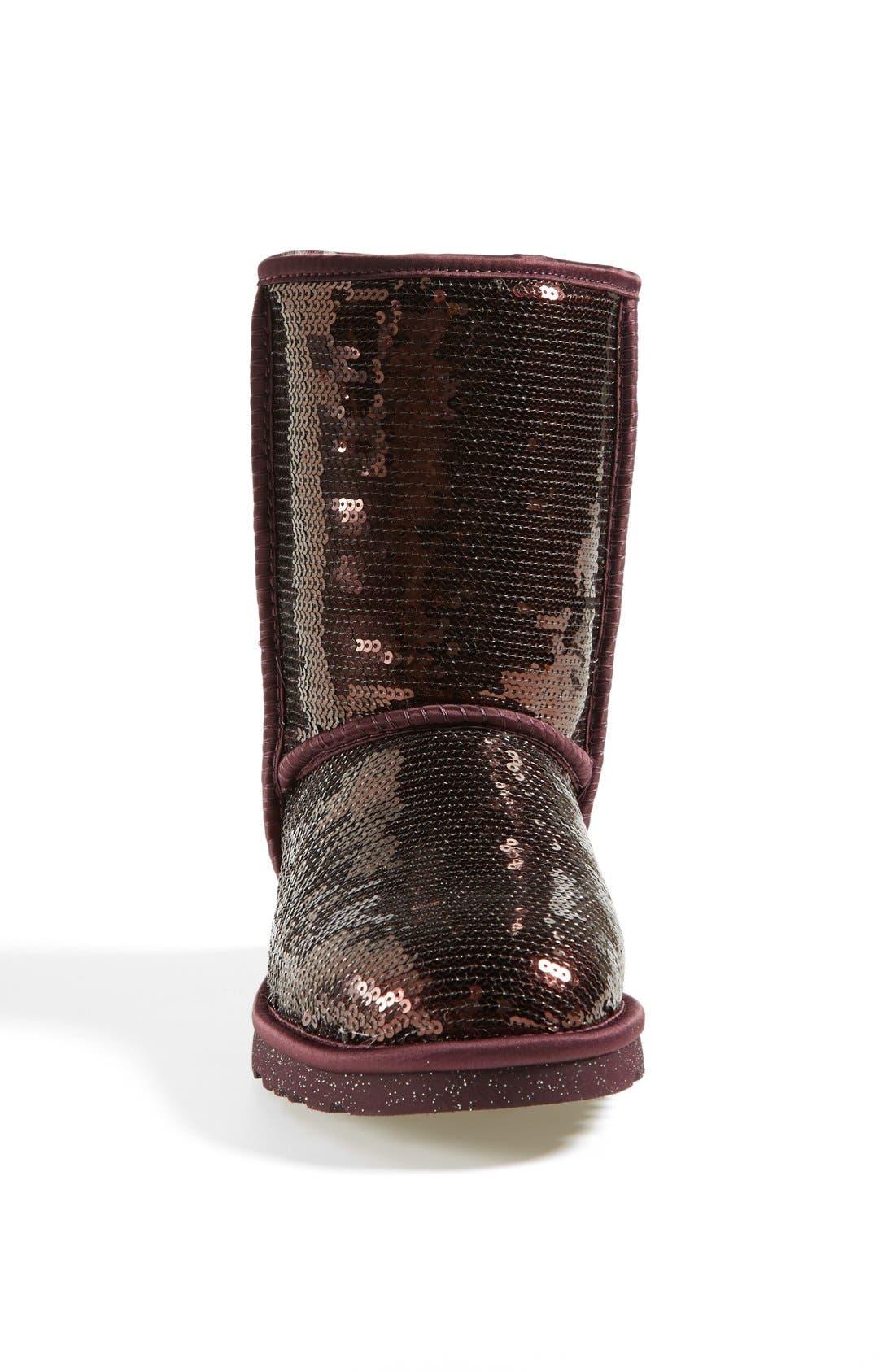 Alternate Image 3  - UGG® Australia 'Classic Short Sparkles' Boot (Women)