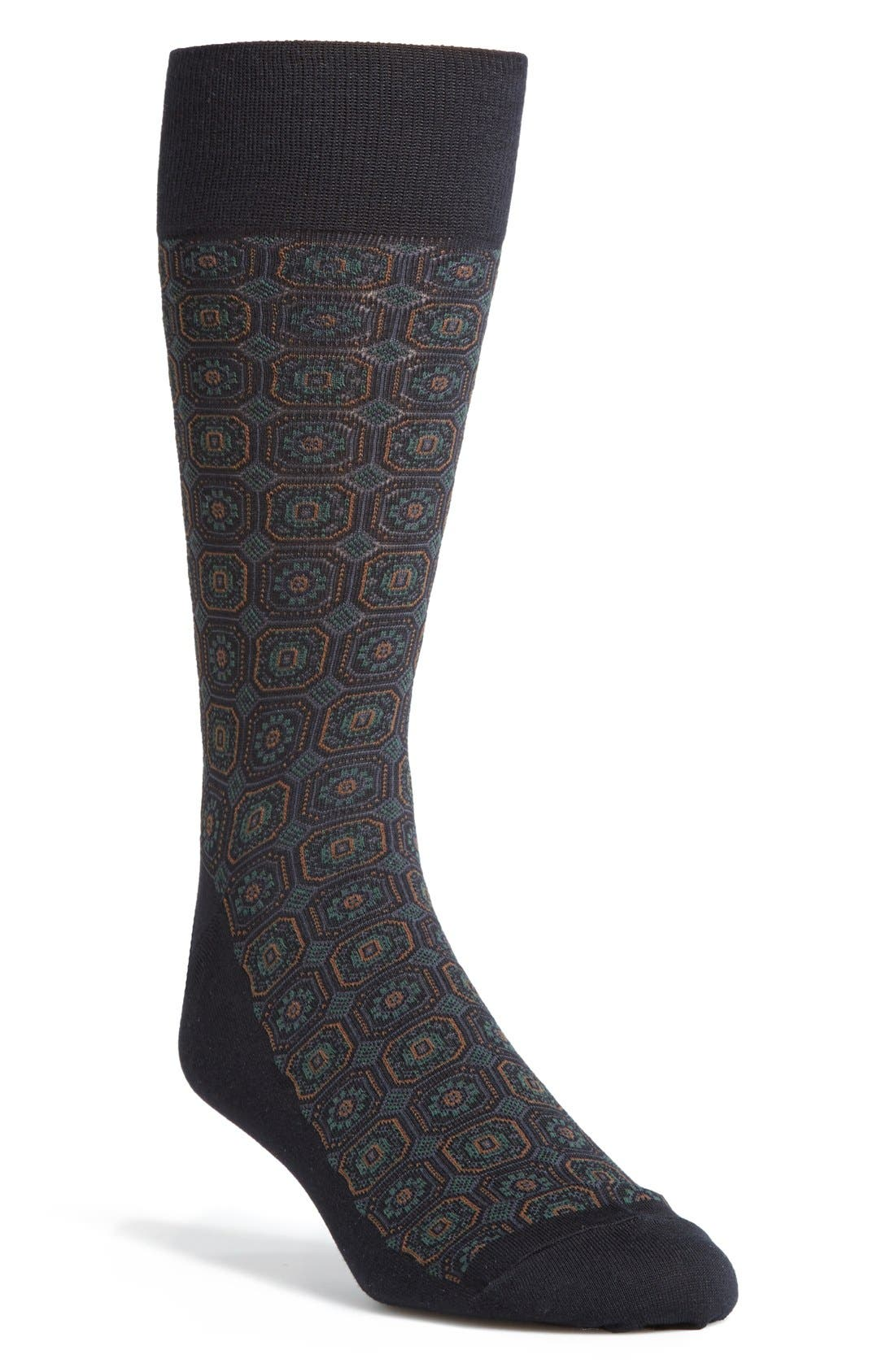 Alternate Image 1 Selected - Polo Ralph Lauren Foulard Socks