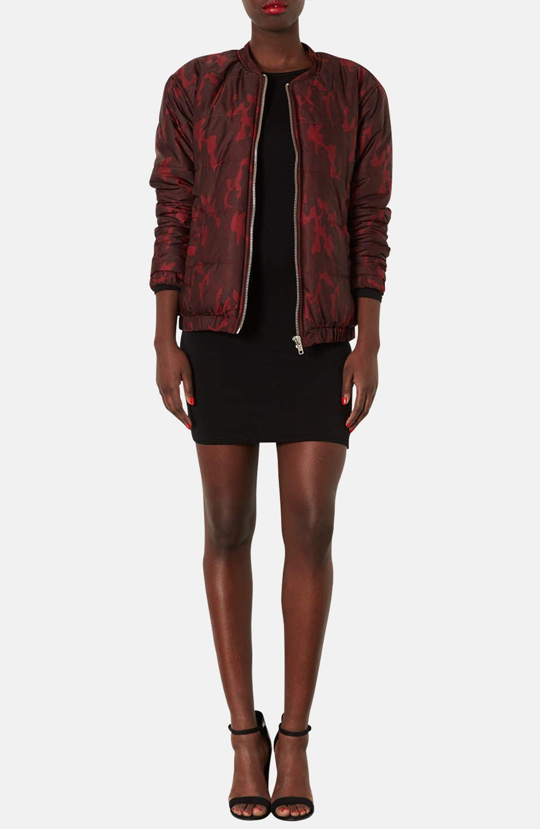 Alternate Image 4  - Topshop Scoop Back Jersey Body-Con Dress