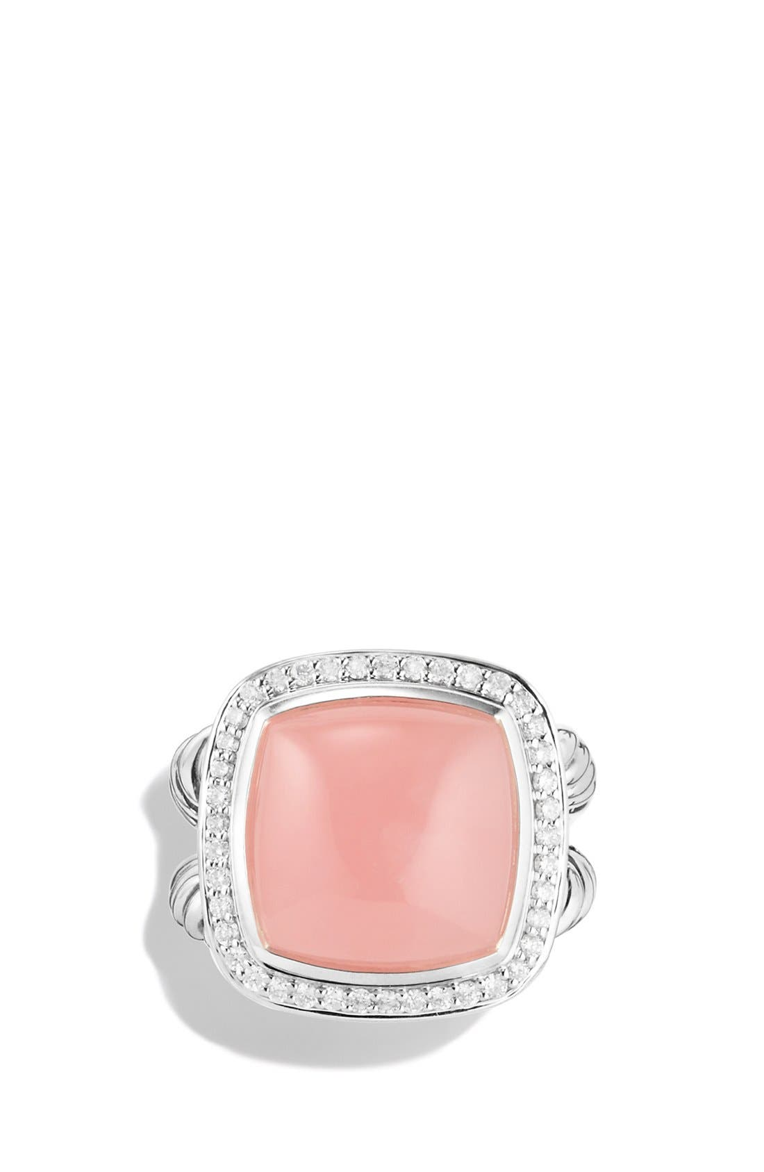Alternate Image 4  - David Yurman 'Albion' Ring with Semiprecious Stone & Diamonds