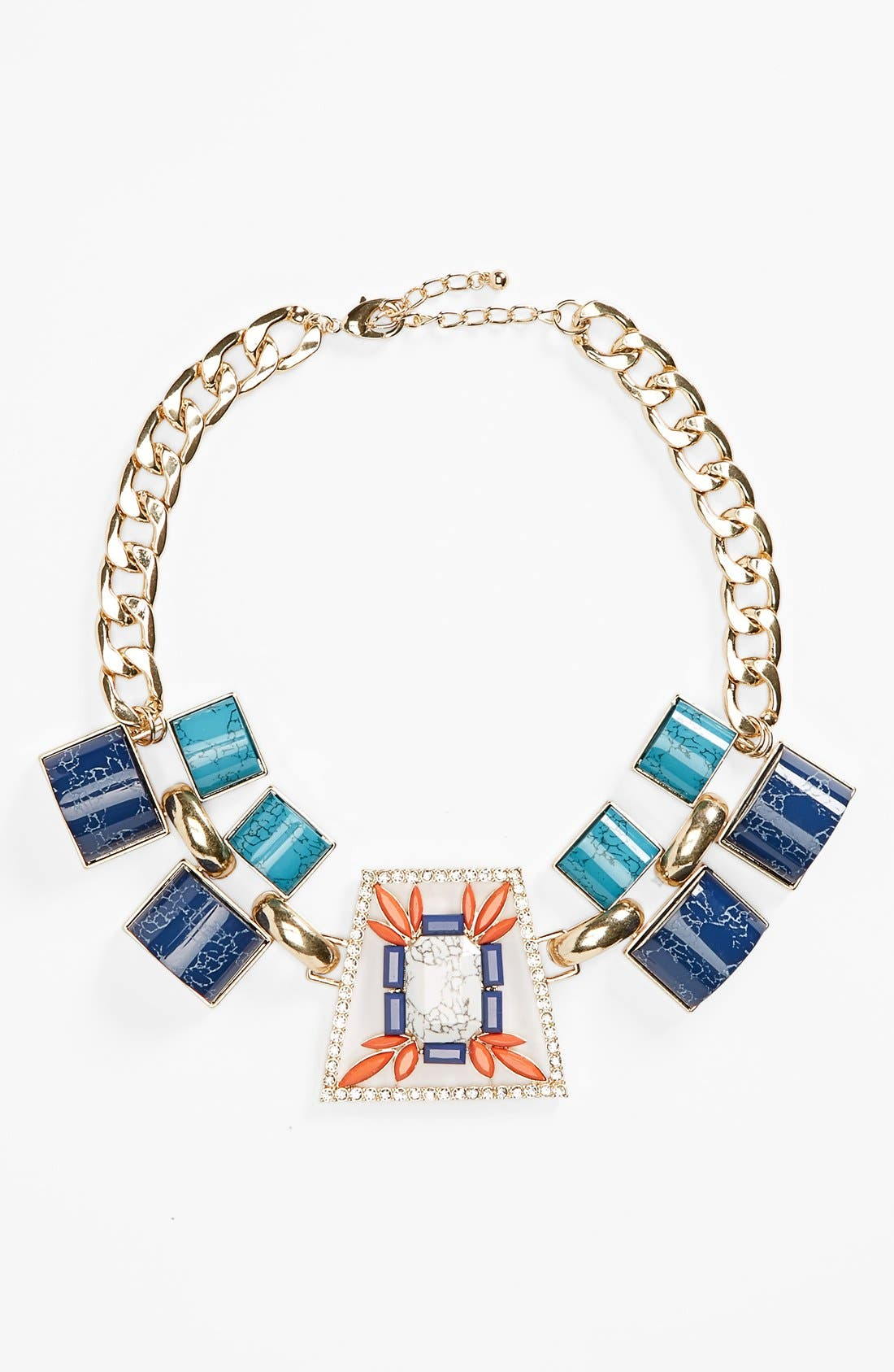 Main Image - Guinevere Stone Statement Necklace