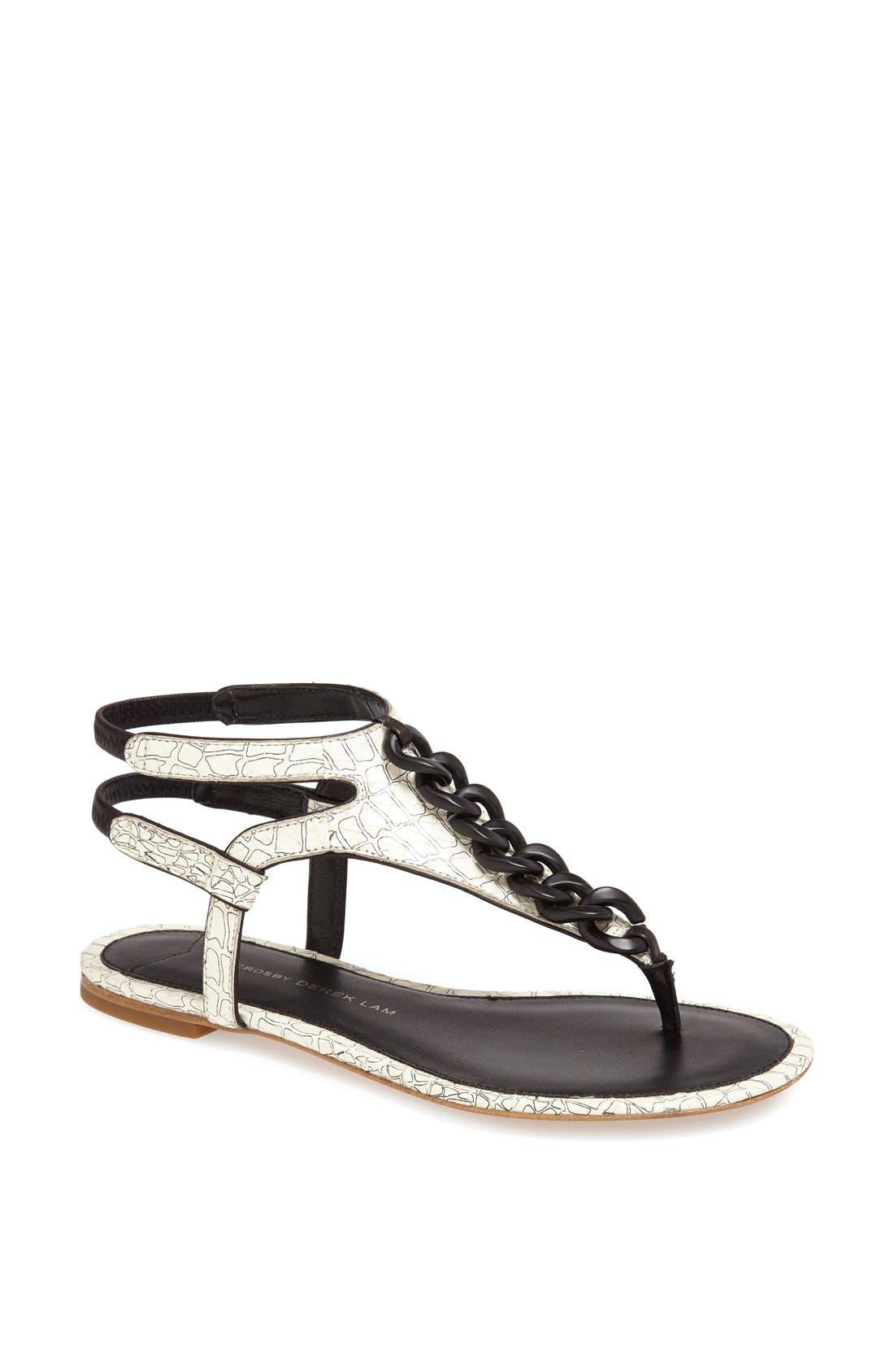 Alternate Image 1 Selected - Derek Lam 10 Crosby 'Damast' Sandal