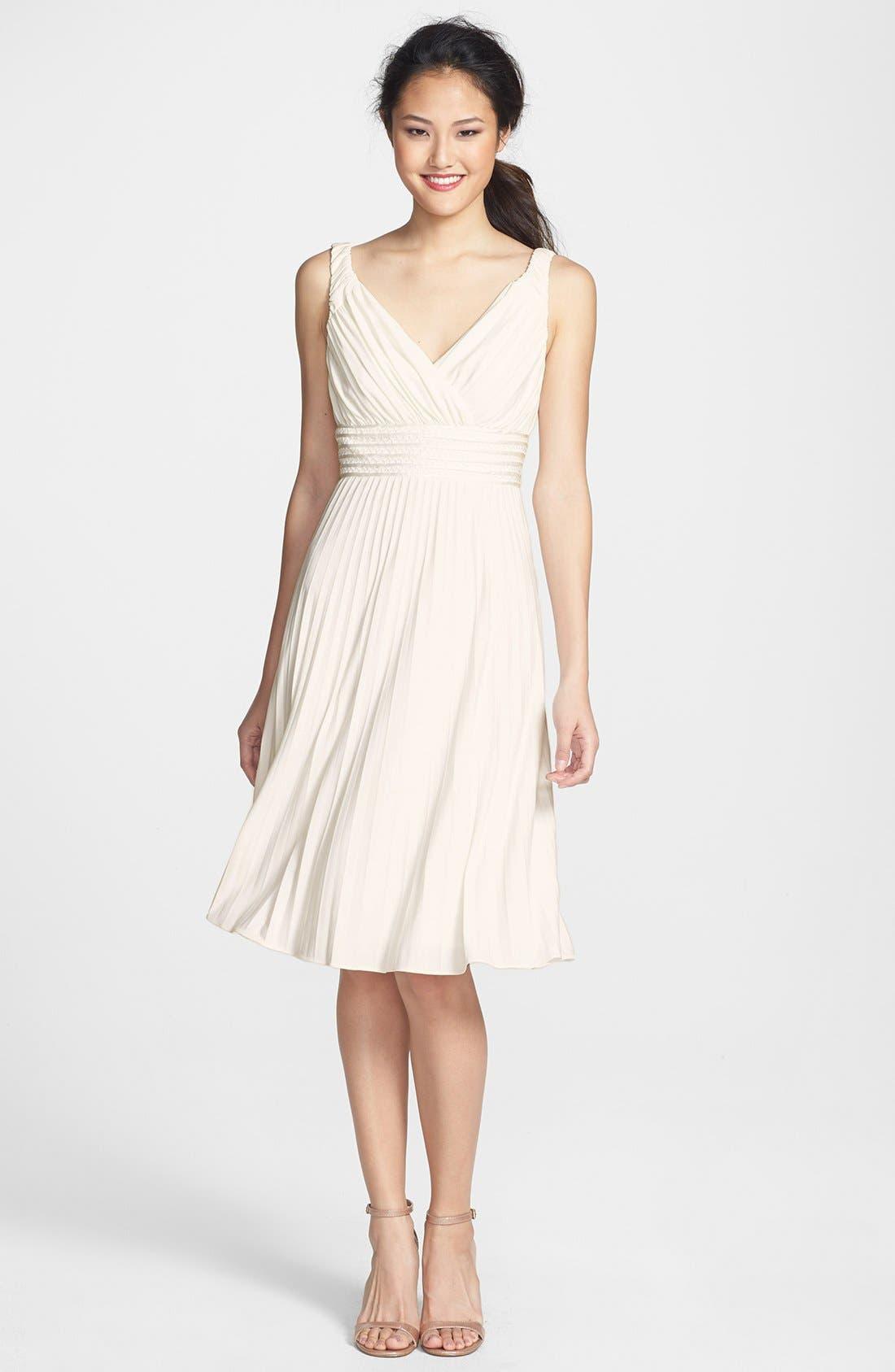 Alternate Image 3  - Ivy & Blu Pleated Jersey Dress