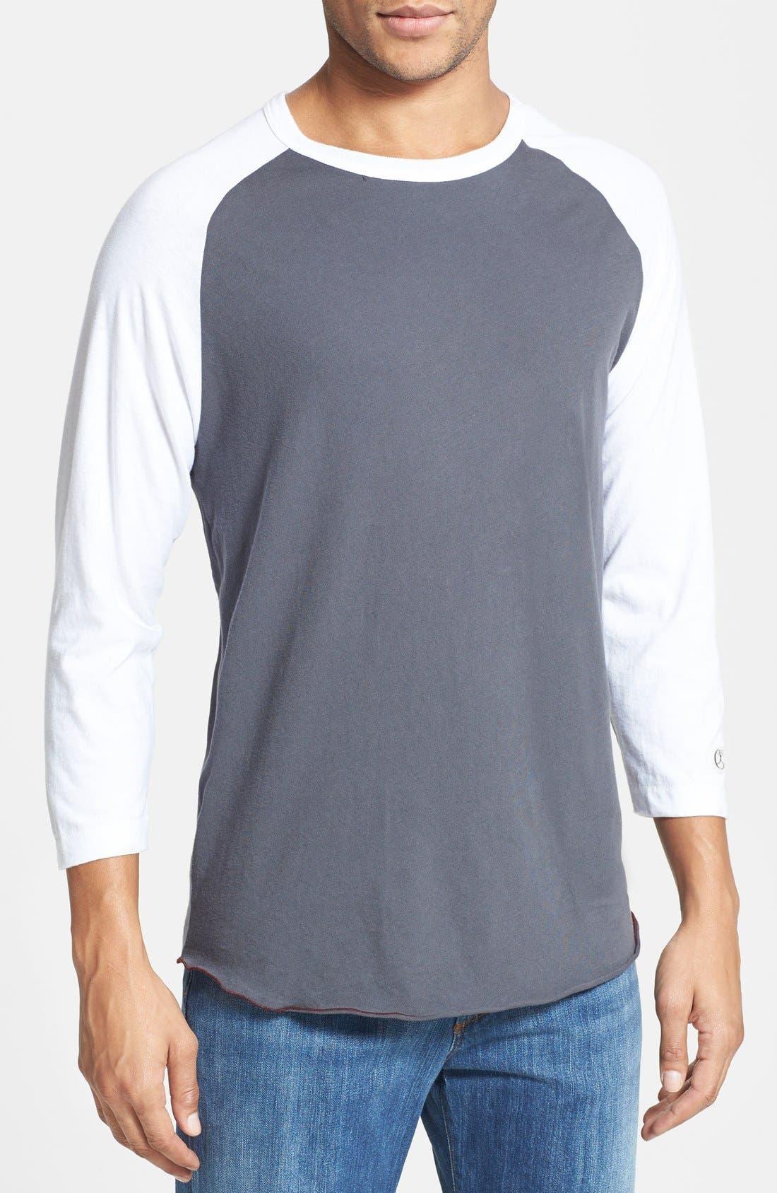 Alternate Image 1 Selected - Todd Snyder + Champion Baseball T-Shirt