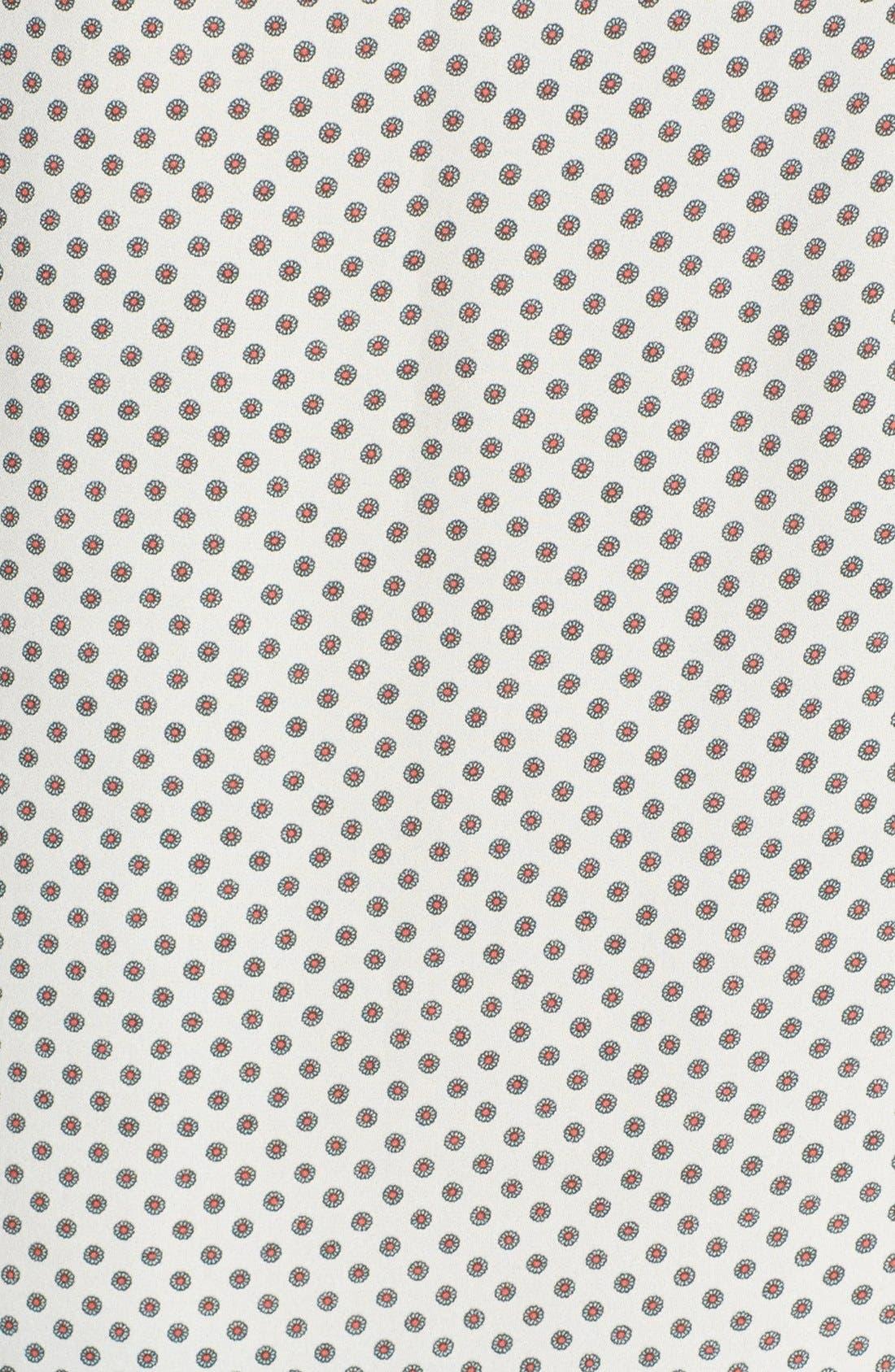 Alternate Image 3  - Maison Scotch Mixed Print Blouse