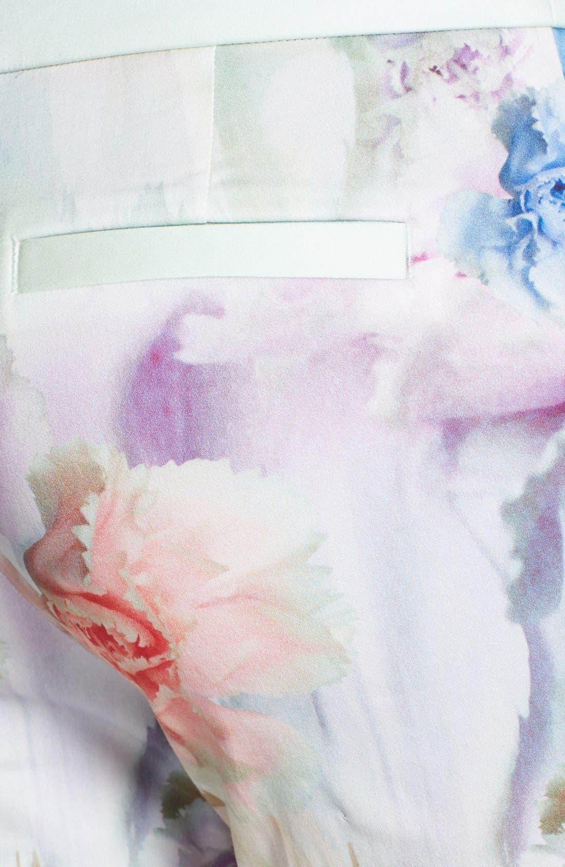 Alternate Image 3  - Ted Baker London 'Avalyn - Sugar Sweet' Floral Print Trousers