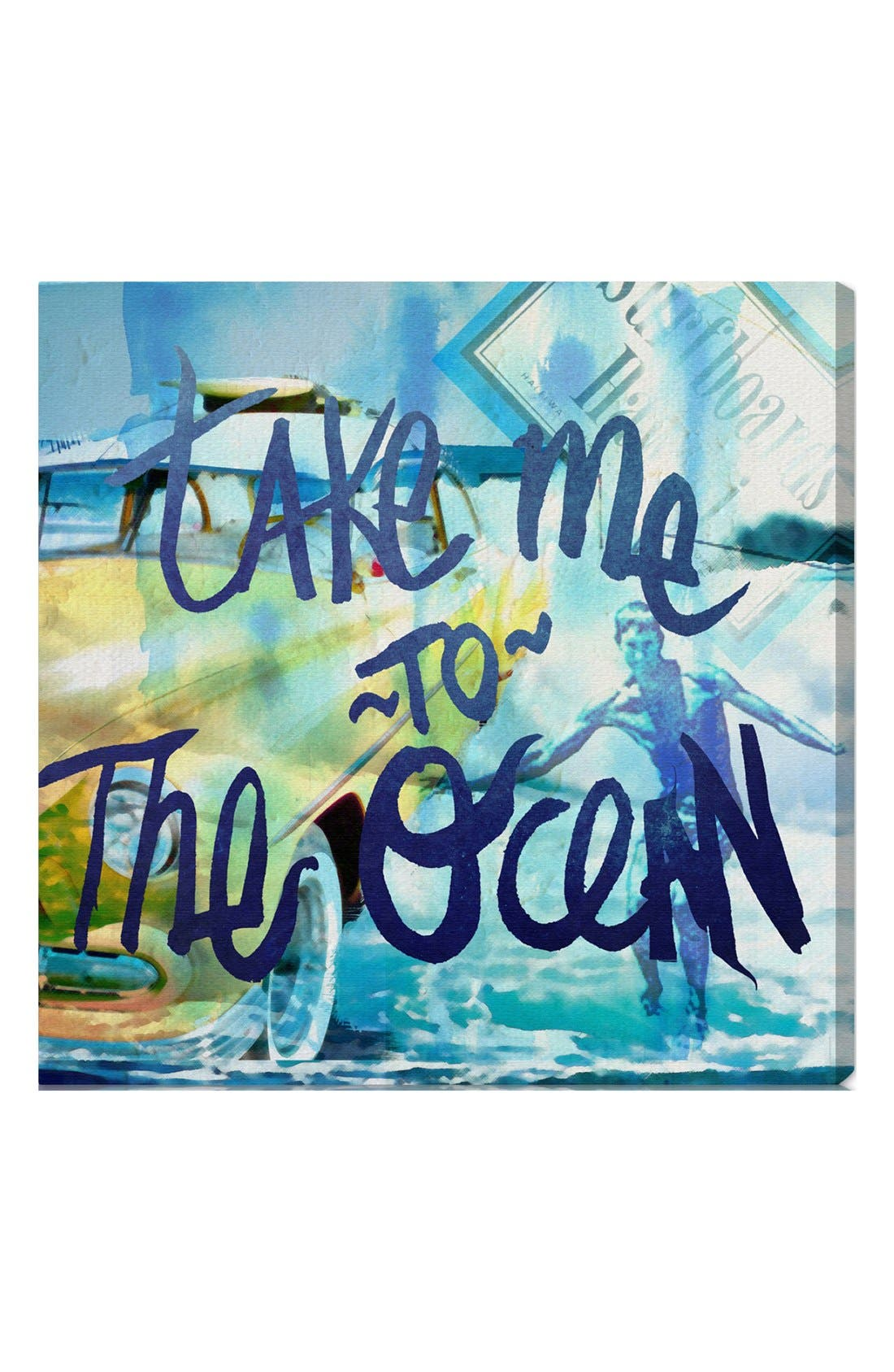 Alternate Image 1 Selected - Oliver Gal 'Take Me to the Ocean' Wall Art