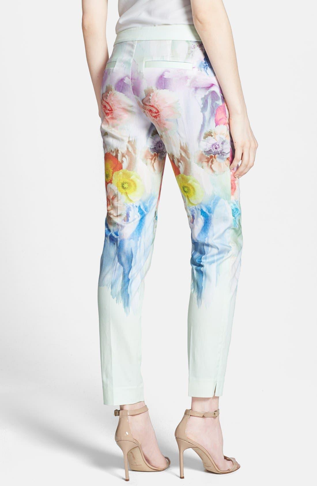 Alternate Image 2  - Ted Baker London 'Avalyn - Sugar Sweet' Floral Print Trousers