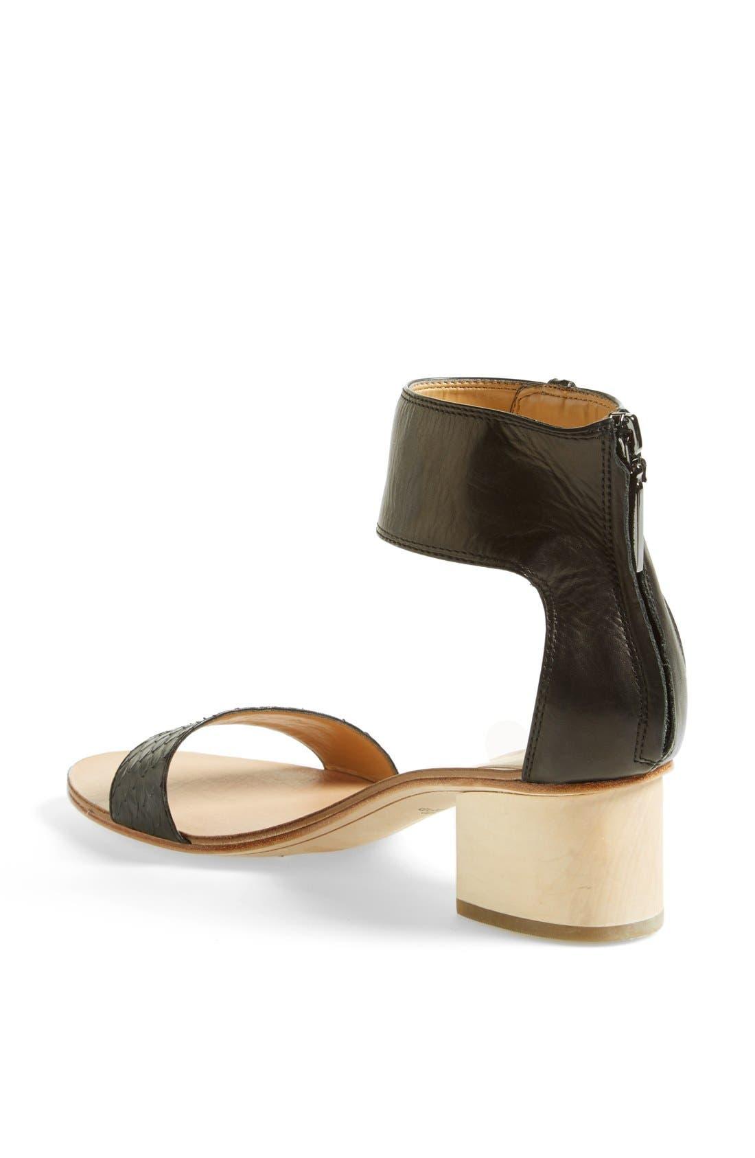Alternate Image 2  - Dolce Vita 'Foxie' Snakeskin & Leather Sandal