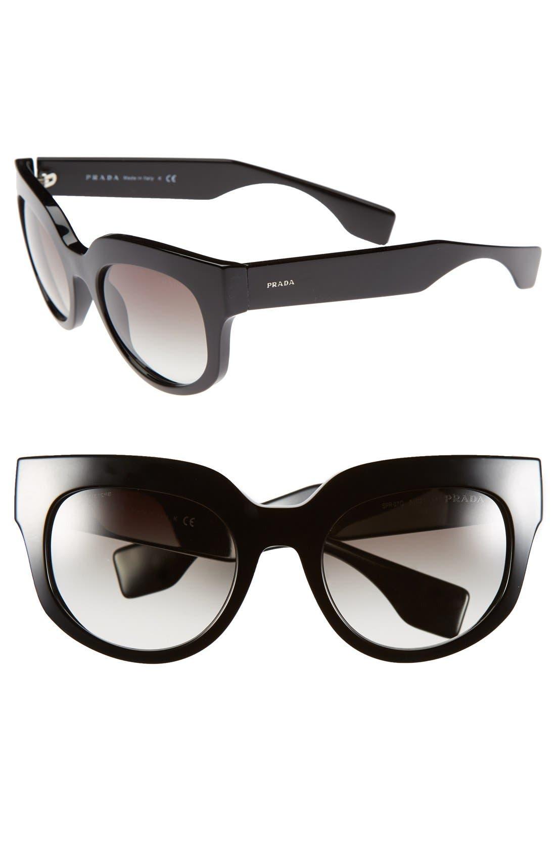 Alternate Image 1 Selected - Prada 52mm Sunglasses
