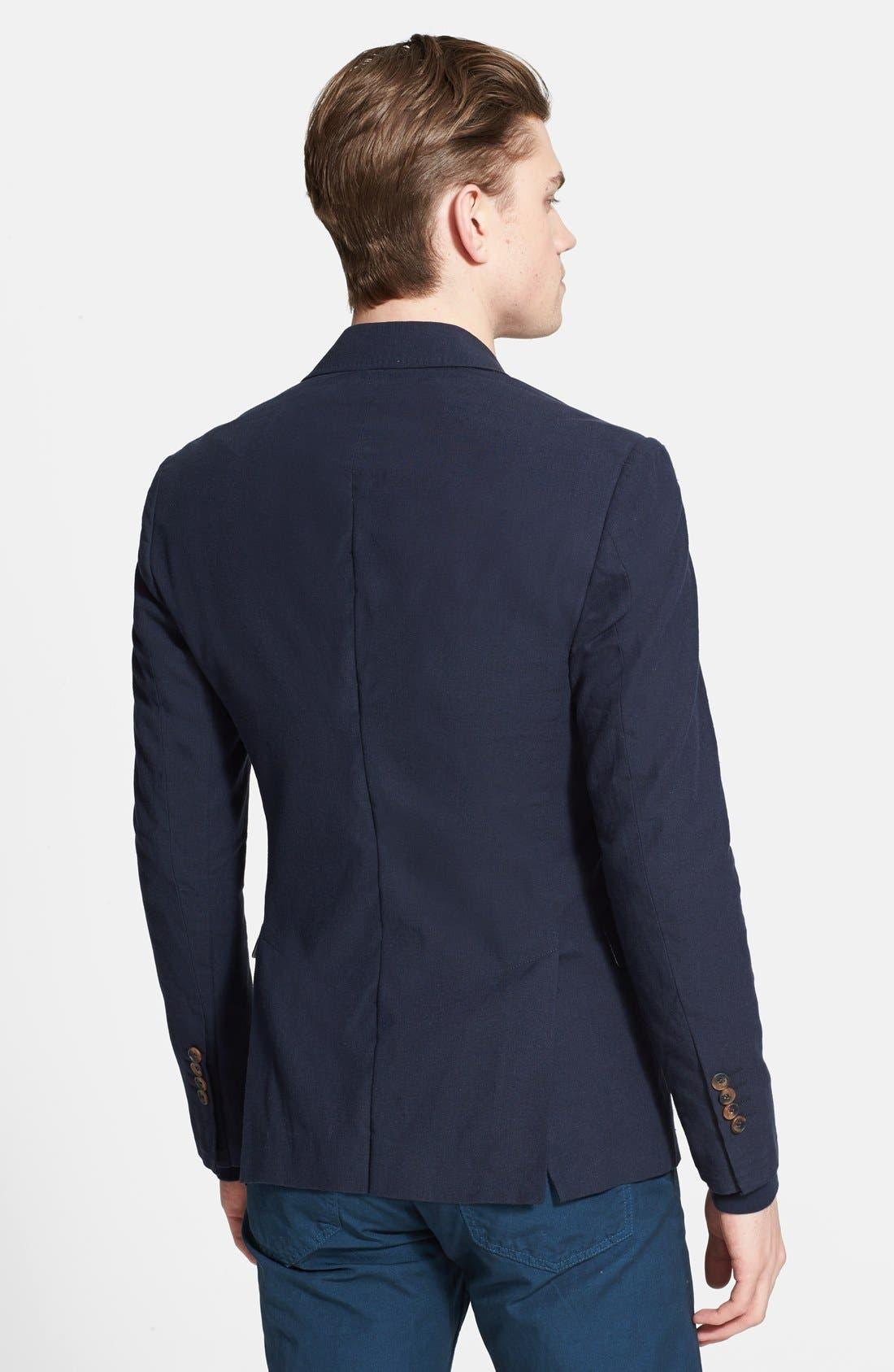 Alternate Image 2  - Billy Reid 'Lexington' Cotton & Linen Sportcoat