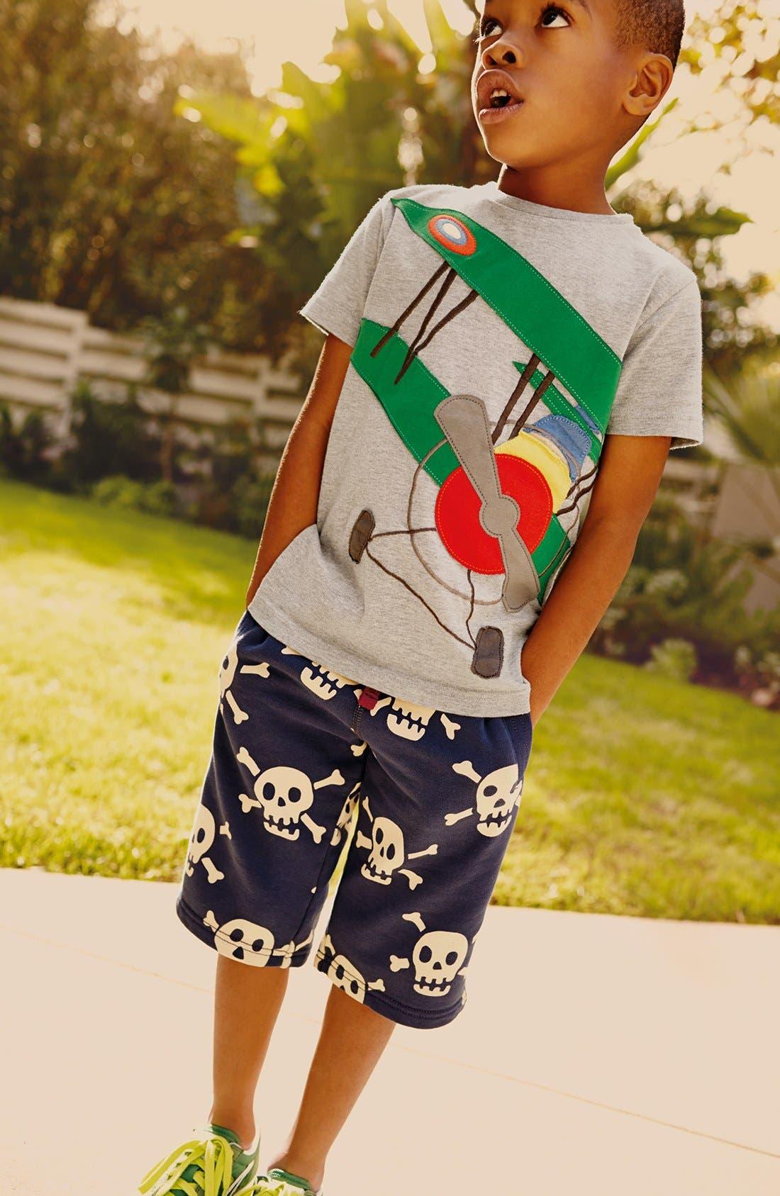 Main Image - Mini Boden T-Shirt & Knit Shorts (Toddler Boys, Little Boys & Big Boys)