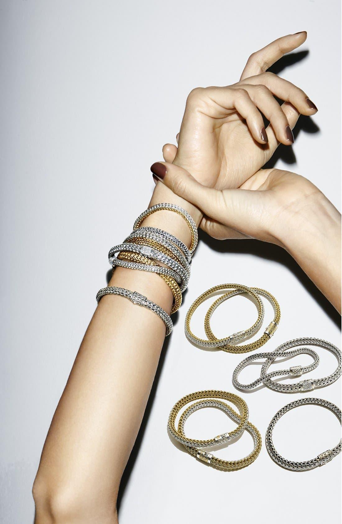 Alternate Image 4  - John Hardy Extra Small Chain Bracelet with Diamond Clasp
