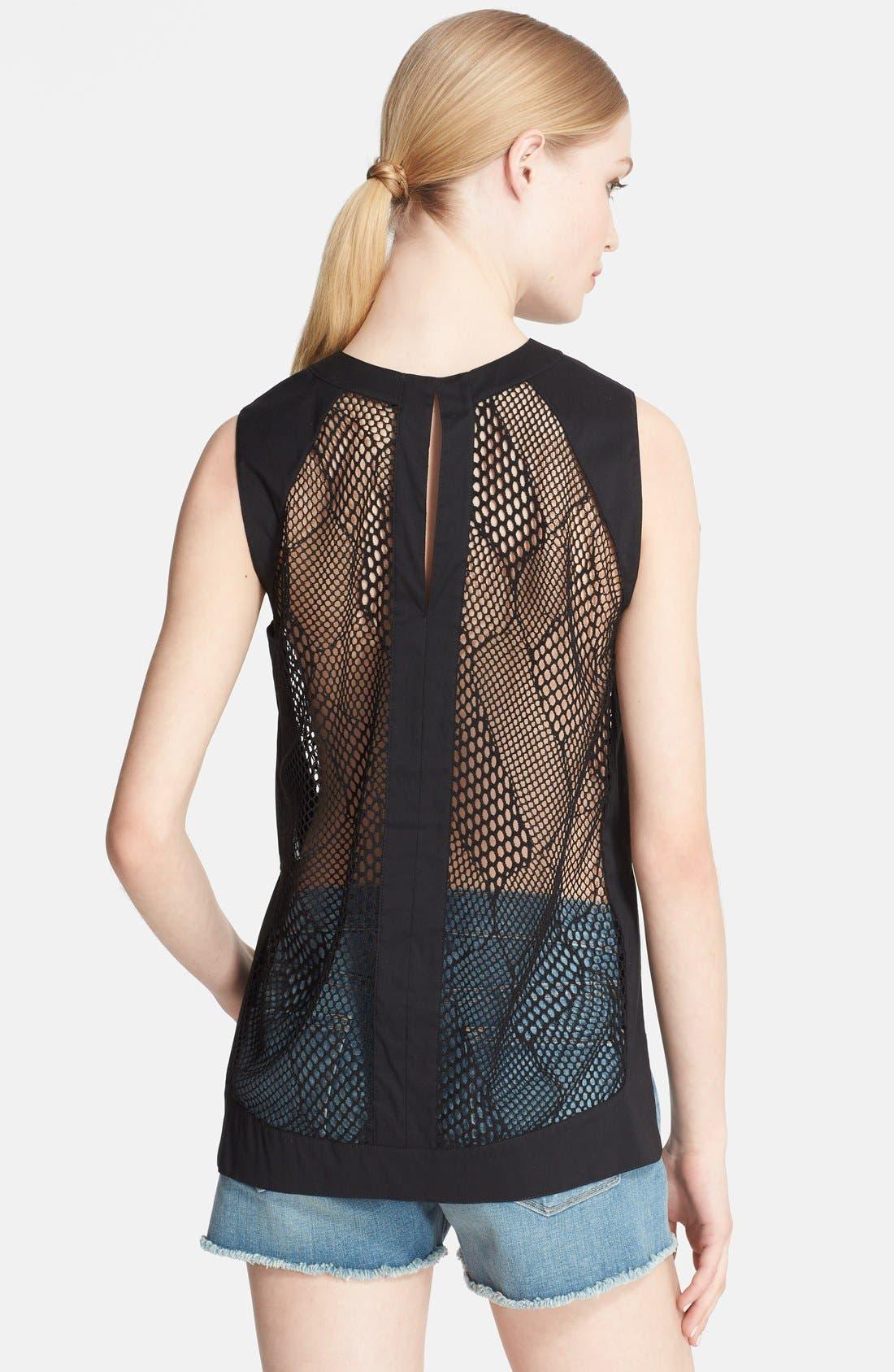 Alternate Image 2  - Robert Rodriguez Crochet Lace Tank