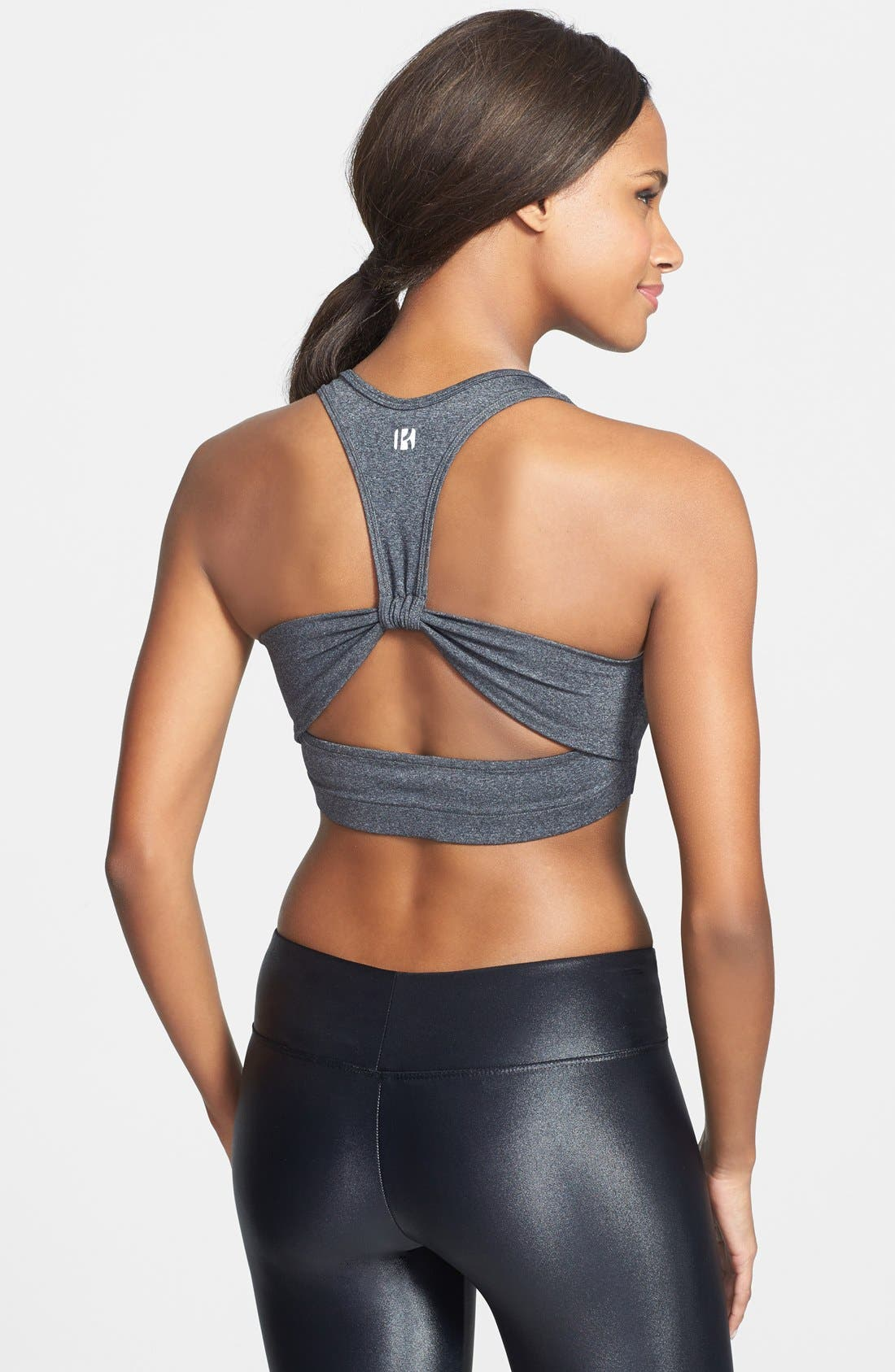 Alternate Image 1 Selected - Koral Cutout Racerback Sports Bra