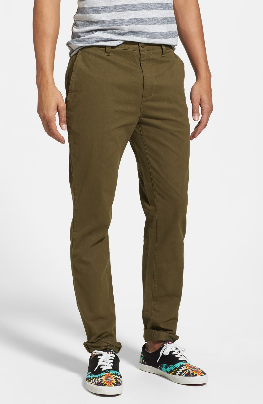 Alternate Image 1 Selected - Obey 'Working Man II' Straight Leg Chinos
