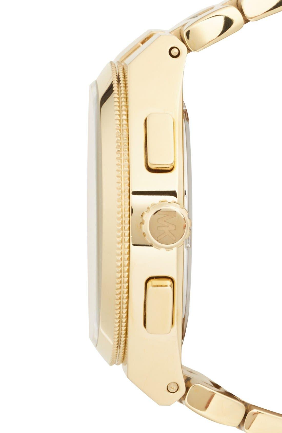 Alternate Image 3  - Michael Kors 'Channing' Chronograph Bracelet Watch, 38mm (Nordstrom Exclusive)