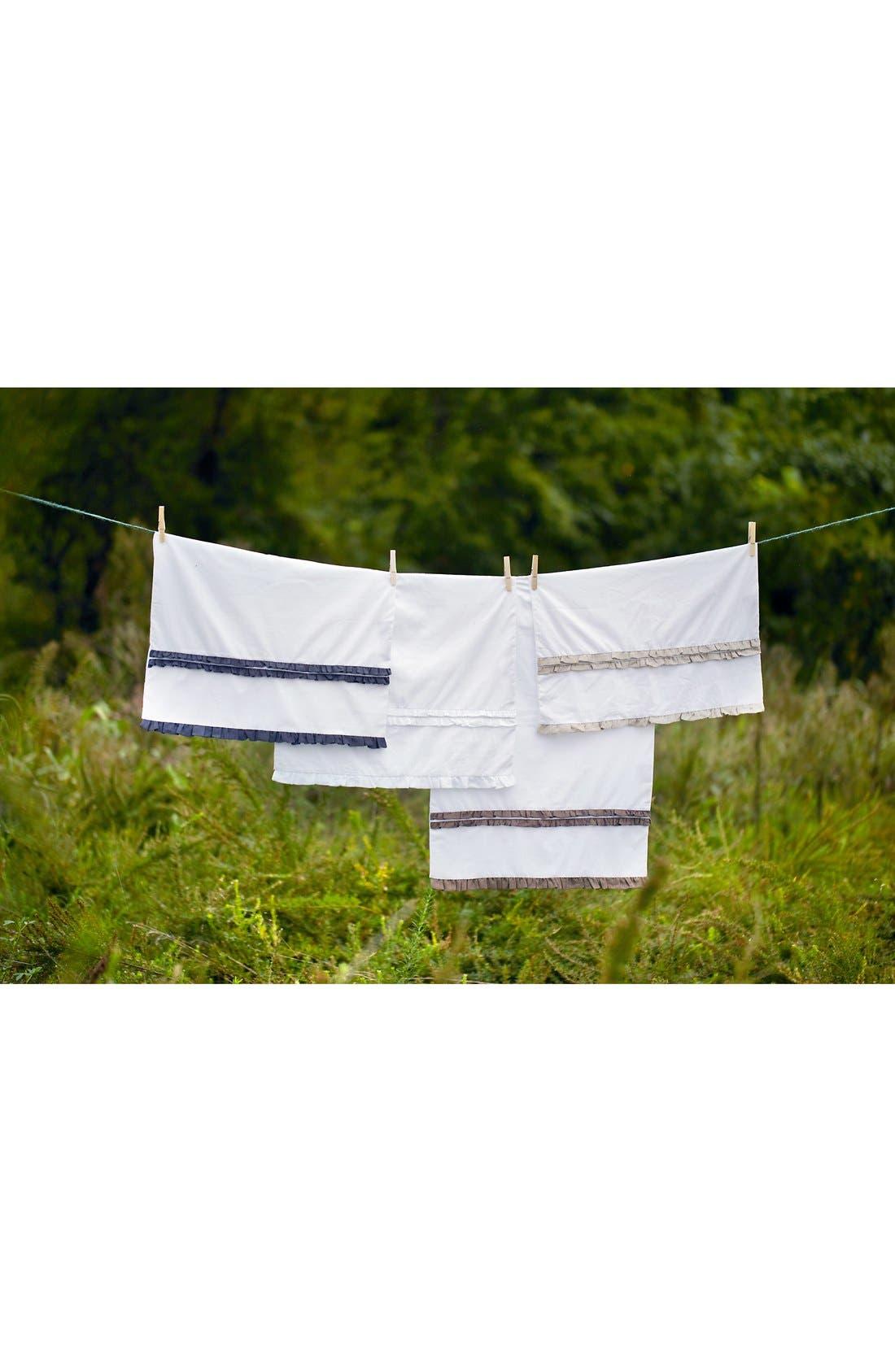 Alternate Image 3  - Amity Home 'Petite Ruffle' Linen Pillowcases (Set of 2)