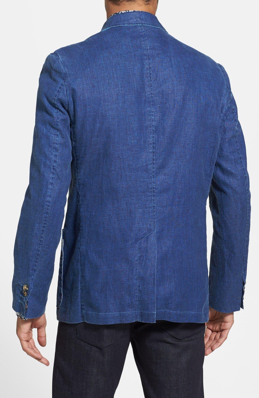 Alternate Image 2  - Report Collection Linen Sport Coat