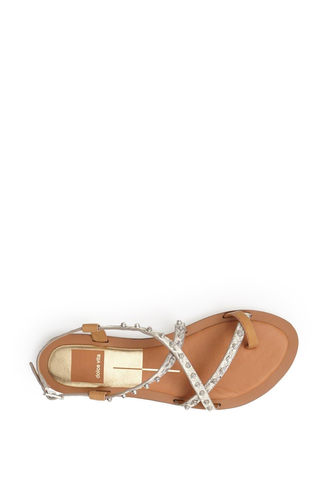 Alternate Image 3  - Dolce Vita 'Flame' Studded Leather Sandal