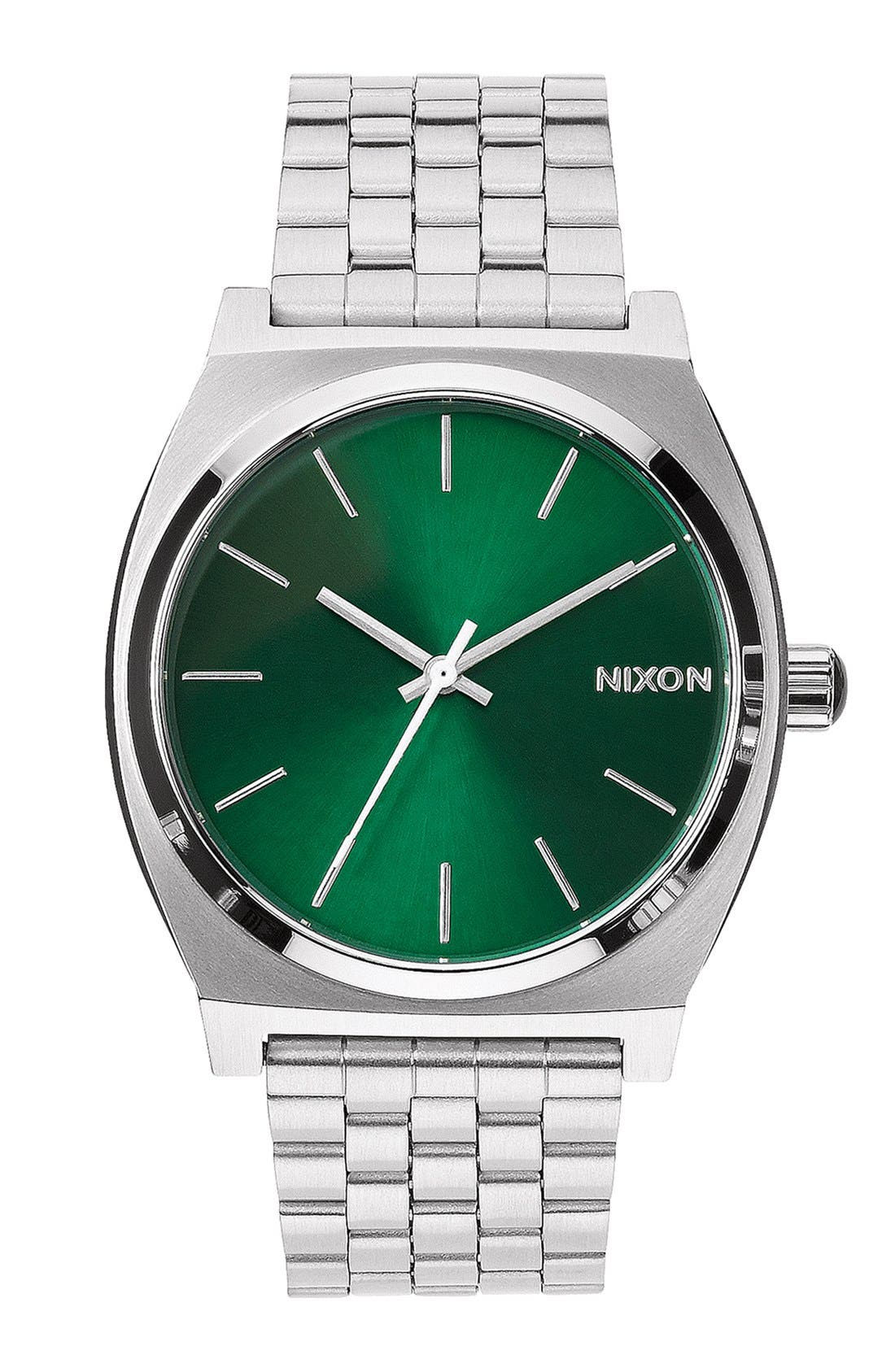 Alternate Image 1 Selected - Nixon 'The Time Teller' Bracelet Watch, 37mm