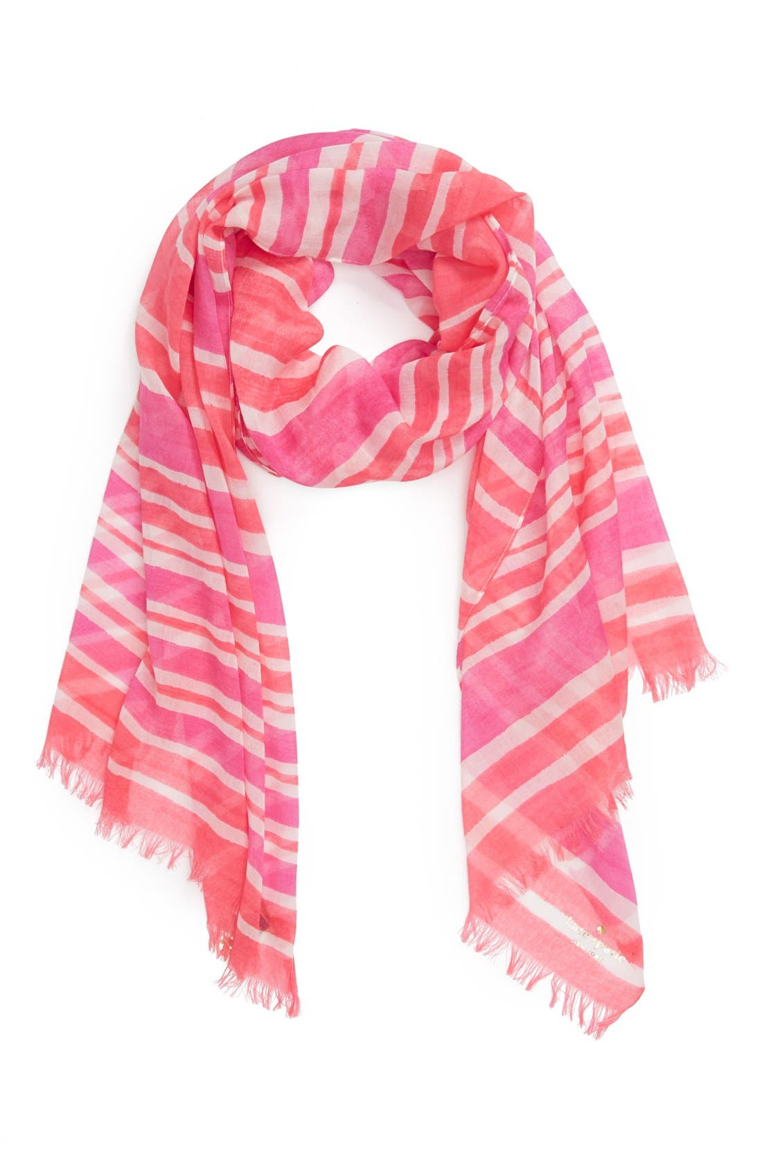 Main Image - kate spade new york 'capri stripe' scarf