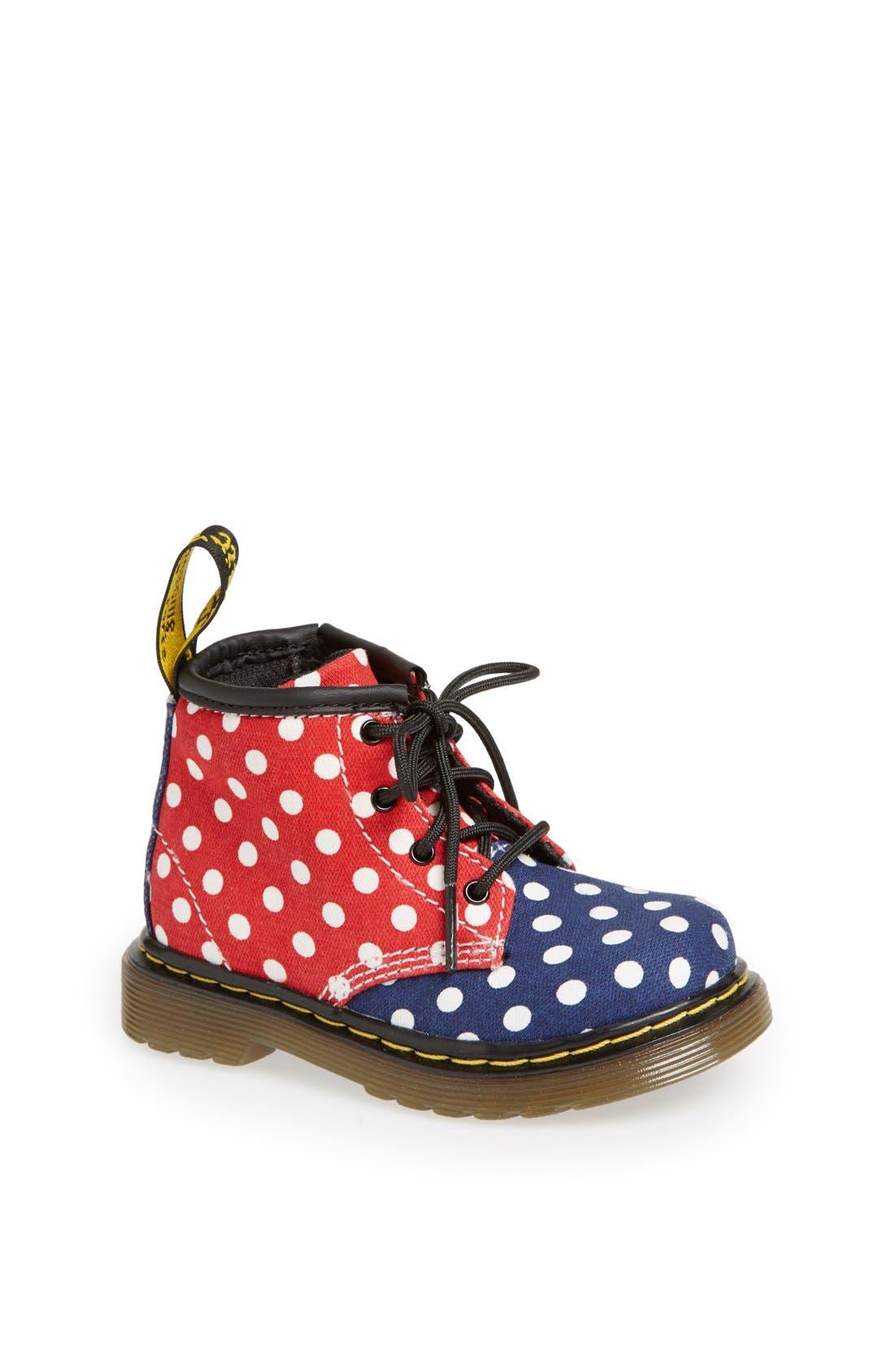 Alternate Image 1 Selected - Dr. Martens 'Brooklee' Boot (Baby & Walker)