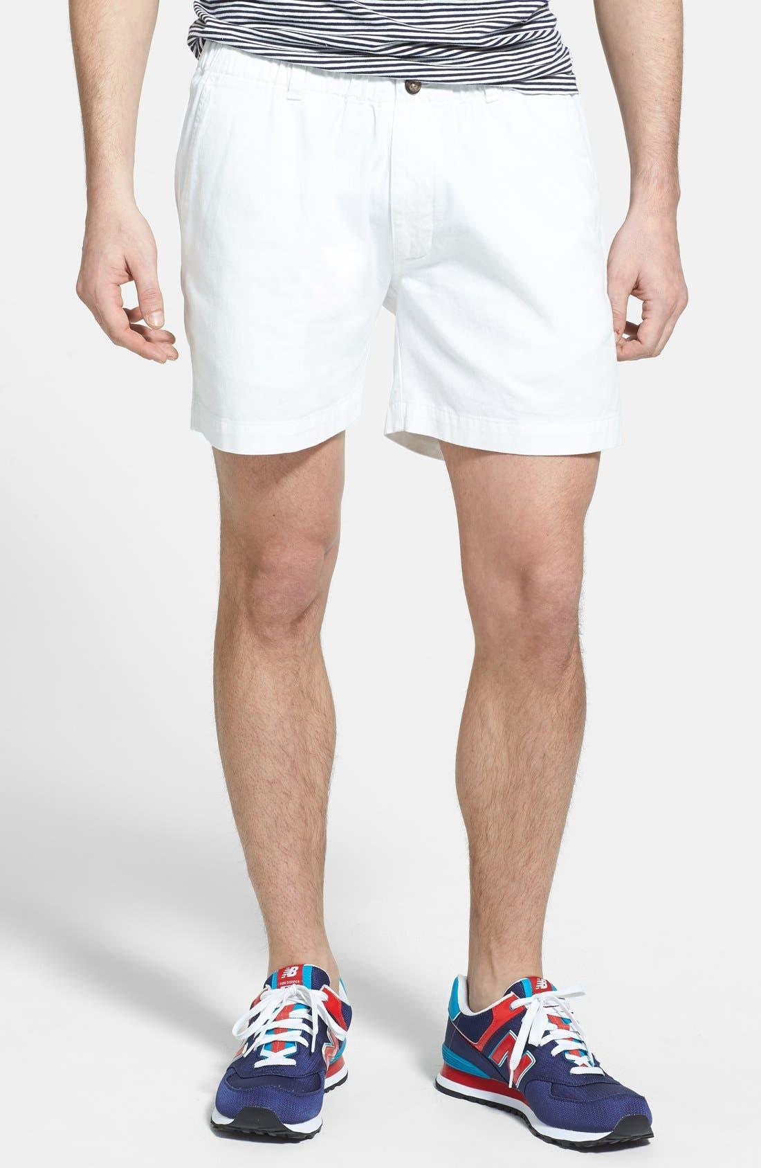 Vintage 1946 'Snappers' Vintage Washed Elastic Waistband Shorts
