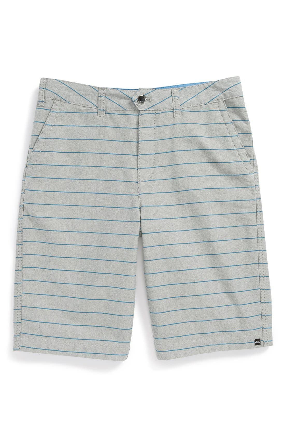 Alternate Image 1 Selected - Quiksilver Stripe Shorts (Big Boys)