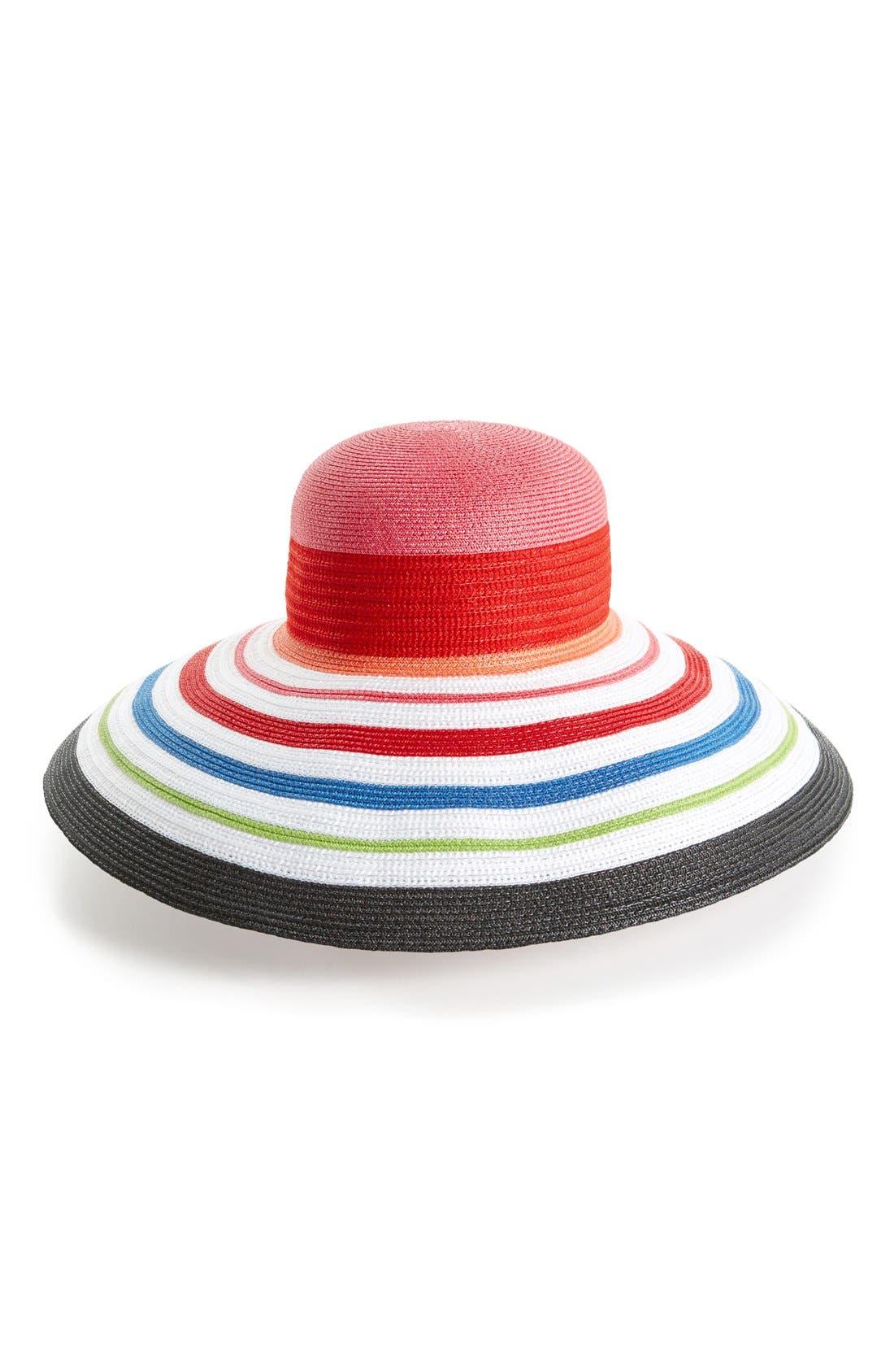 Alternate Image 1 Selected - Laundry by Shelli Segal 'Chloe' Floppy Hat