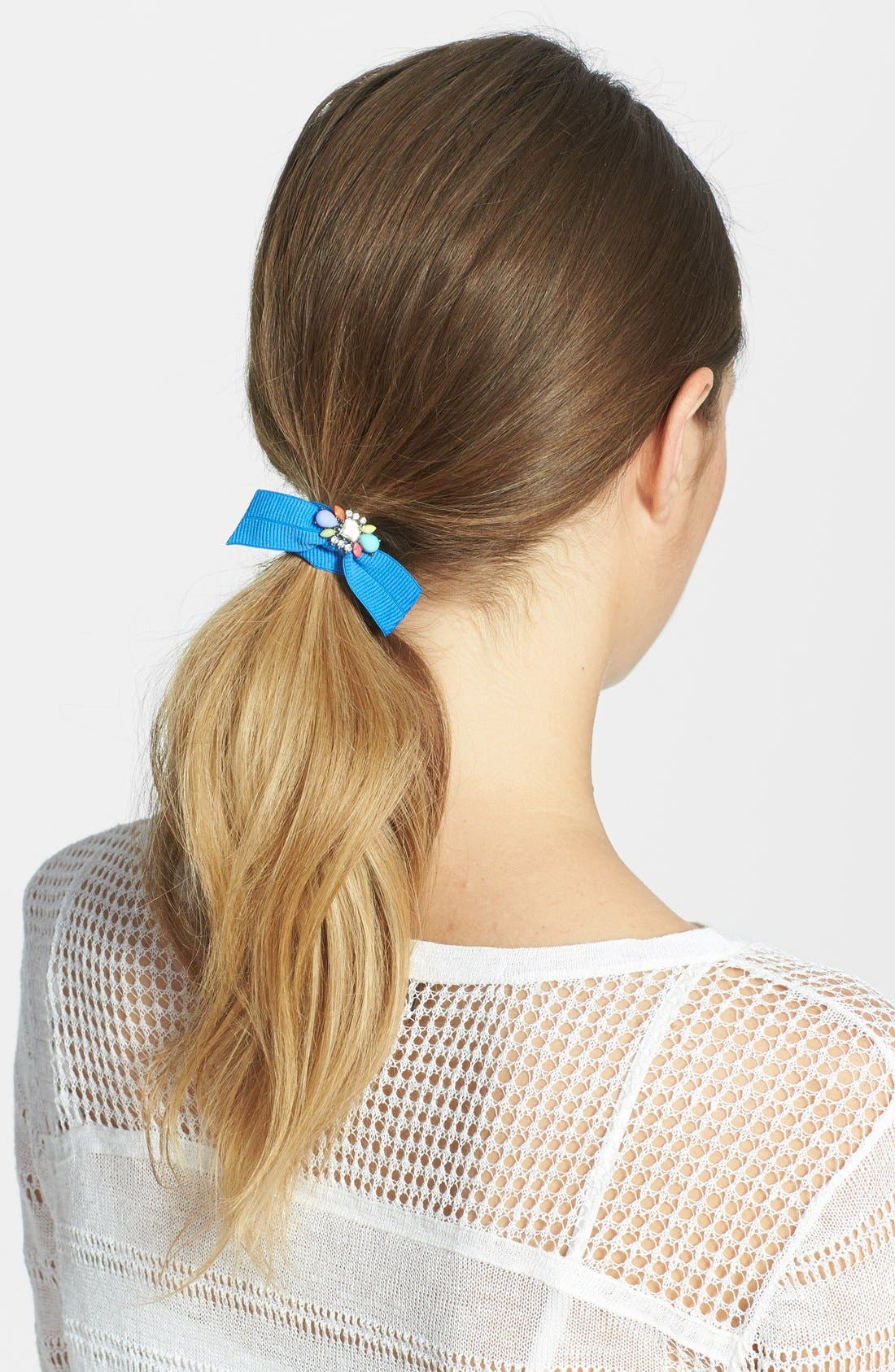 Alternate Image 1 Selected - Cara Jeweled Ponytail Holder