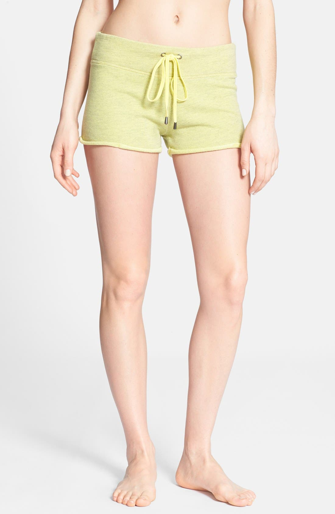 Alternate Image 1 Selected - Solow Rolled Hem Shorts