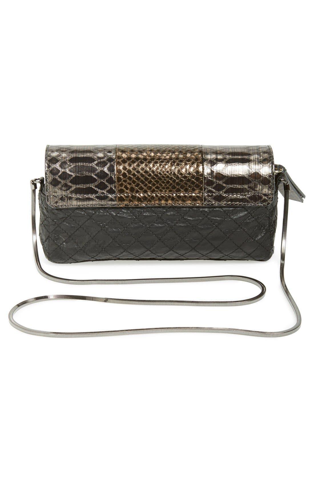 Alternate Image 4  - Lanvin 'Small Paper Bag' Lambskin Shoulder Bag