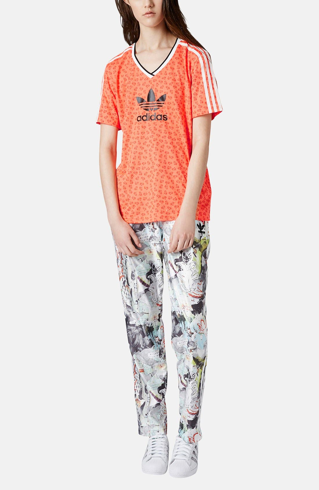Alternate Image 5  - Topshop x adidas Originals Football Tee