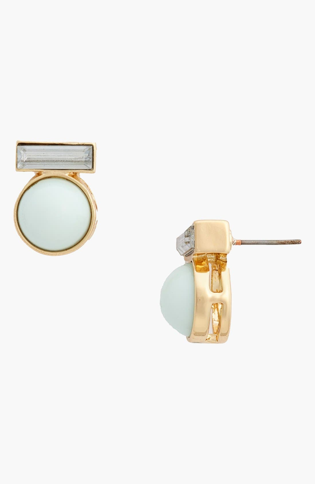 Alternate Image 1 Selected - Missing Piece Faceted Stud Earrings