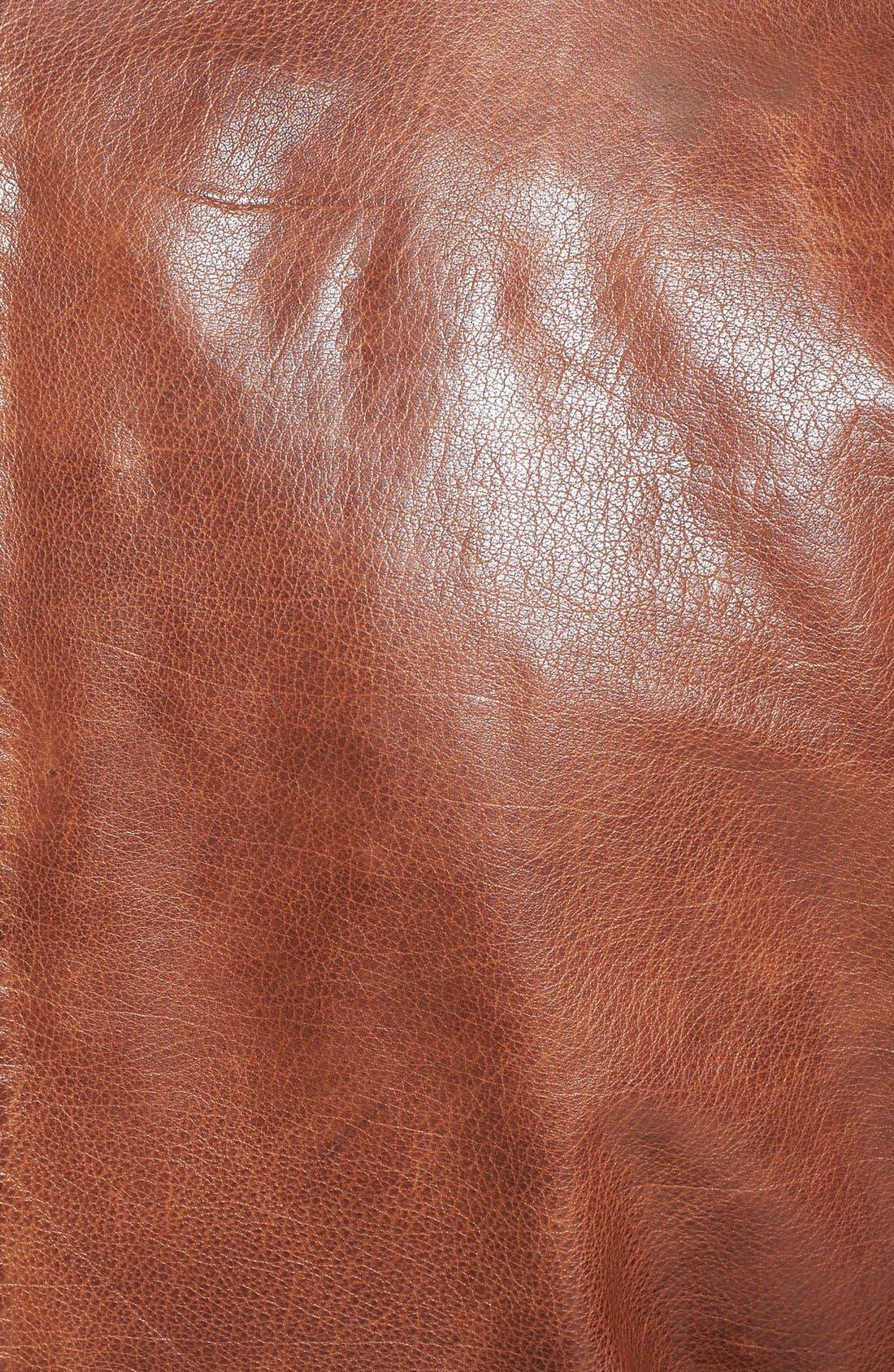 Alternate Image 3  - Nudie Jeans 'Ervin '50s' Leather Jacket