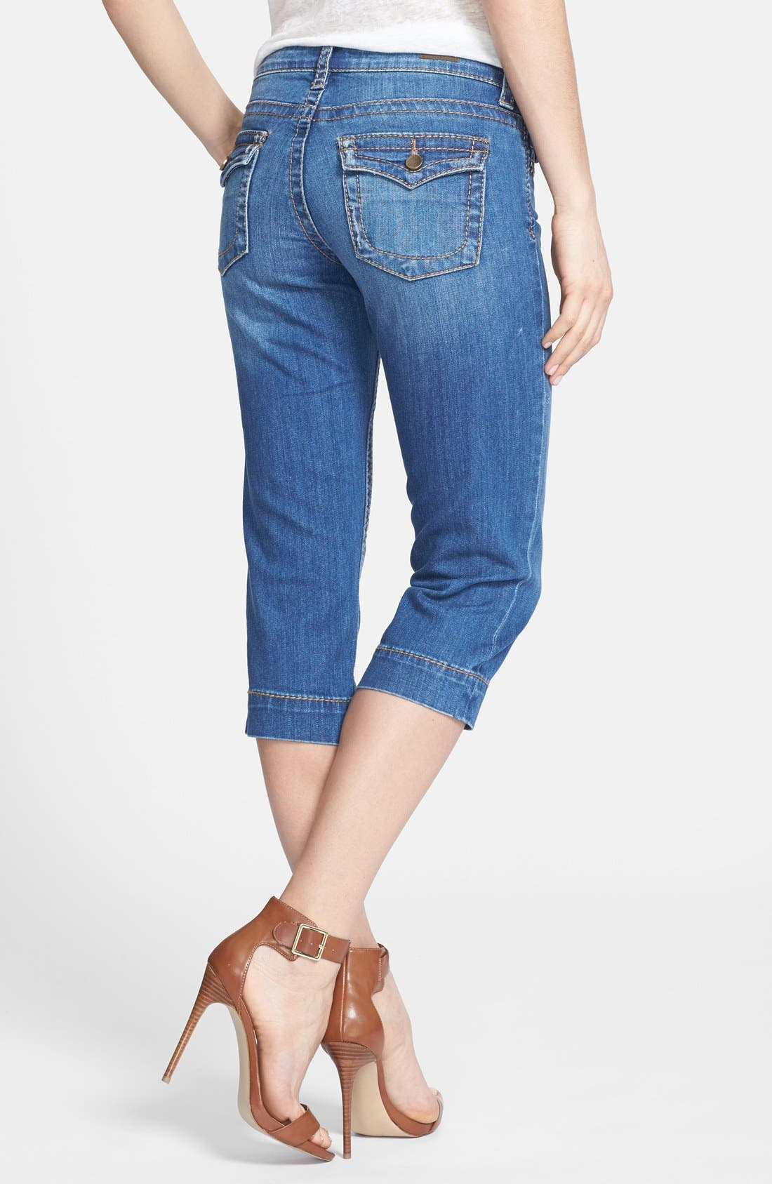 Alternate Image 2  - KUT from the Kloth 'Natalie' Crop Jeans (Function)