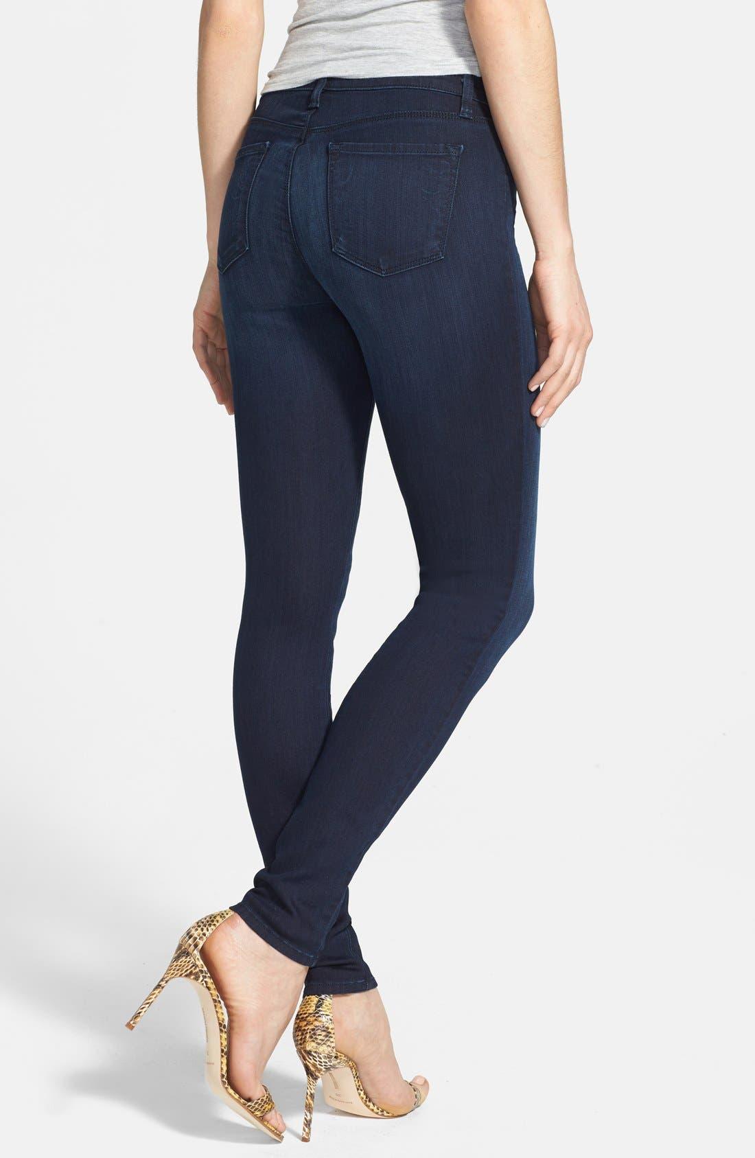 Alternate Image 2  - J Brand '620' Skinny Jeans (Darkness)