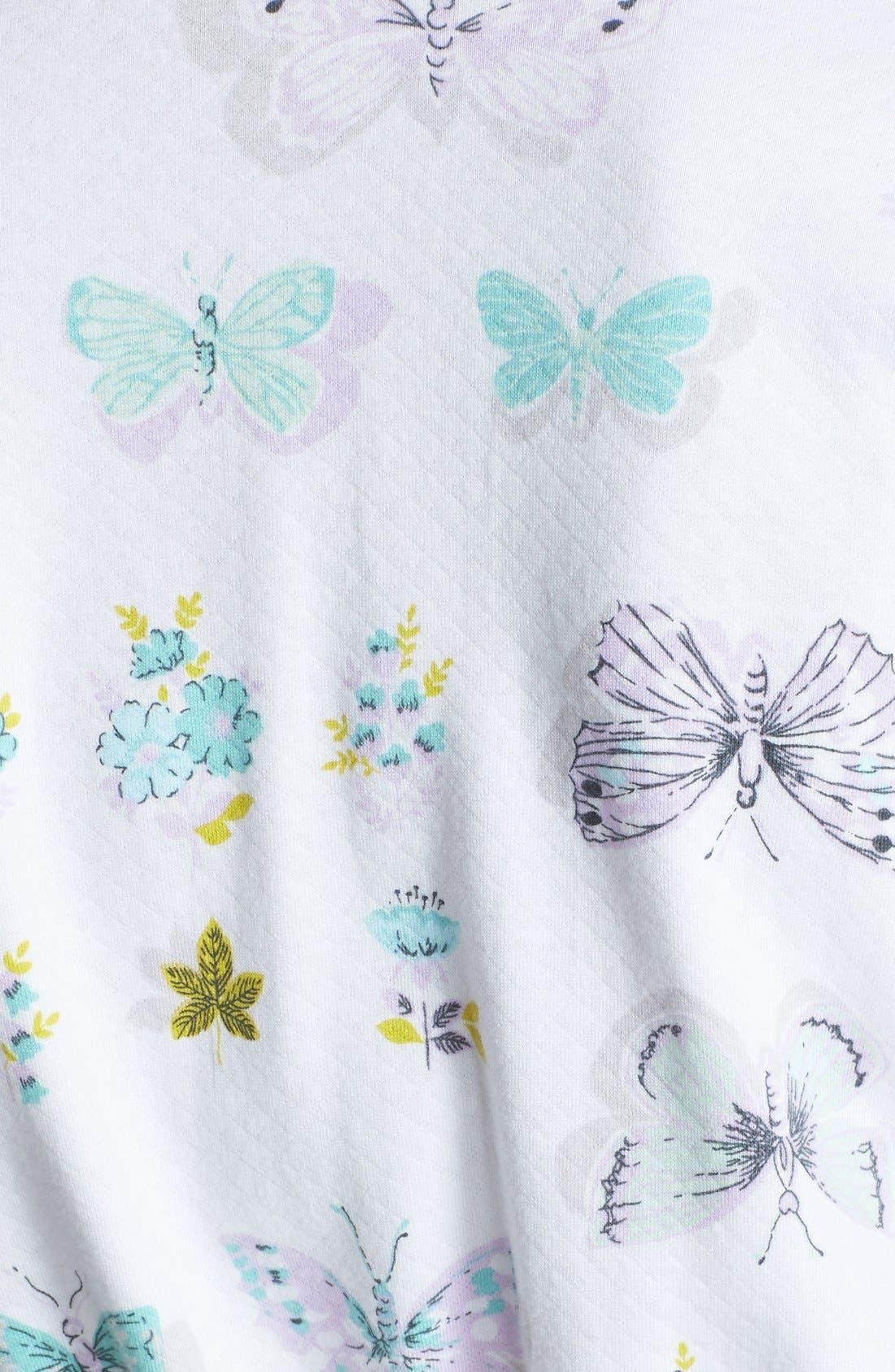 Alternate Image 3  - Carole Hochman Designs 'Butterfly Soiree' Robe