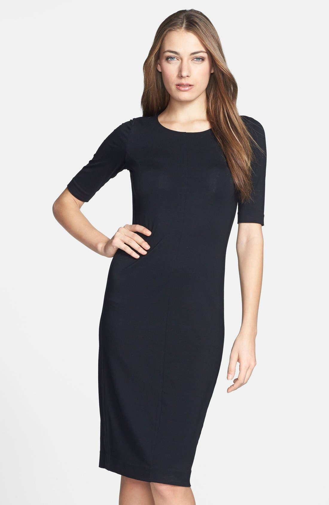 Alternate Image 3  - Diane von Furstenberg 'Raquel' Knit Sheath Dress