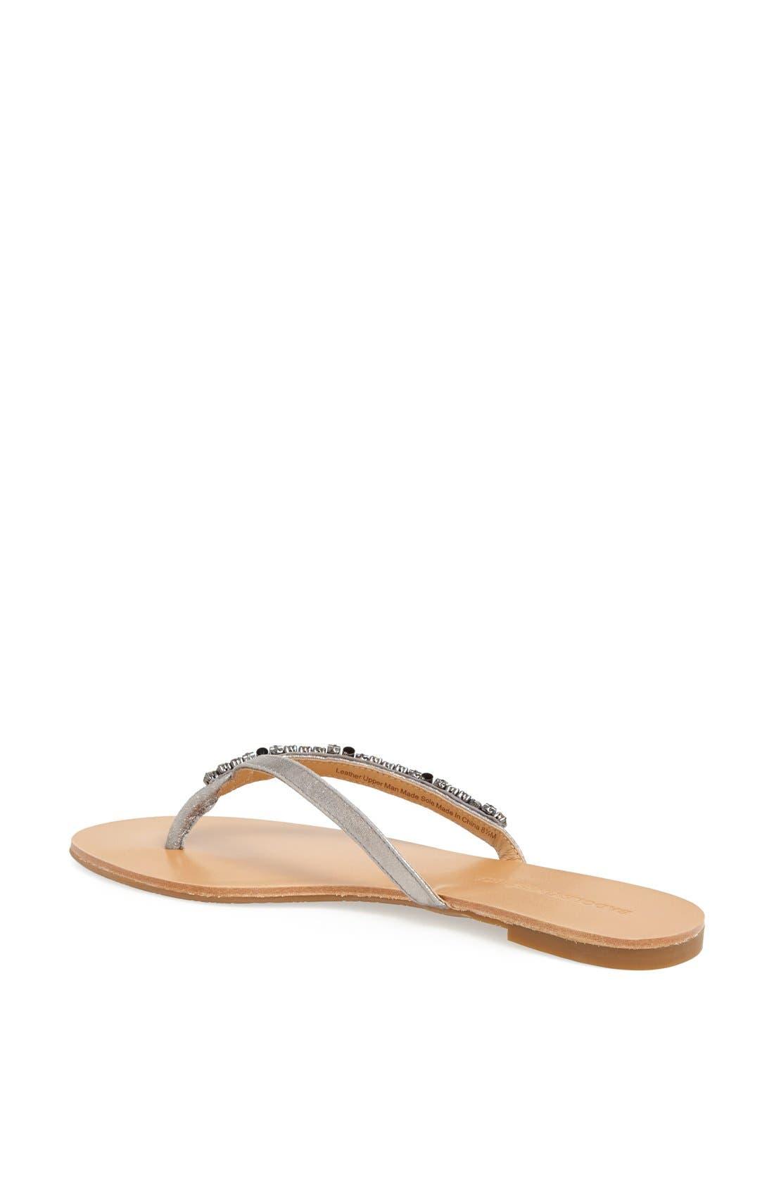 Alternate Image 2  - Badgley Mischka 'Kamryn' Thong Sandal