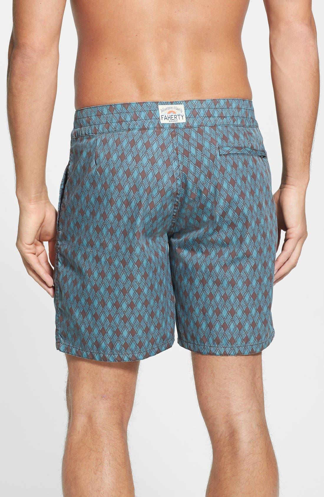 Alternate Image 2  - Faherty 'Classic' Board Shorts